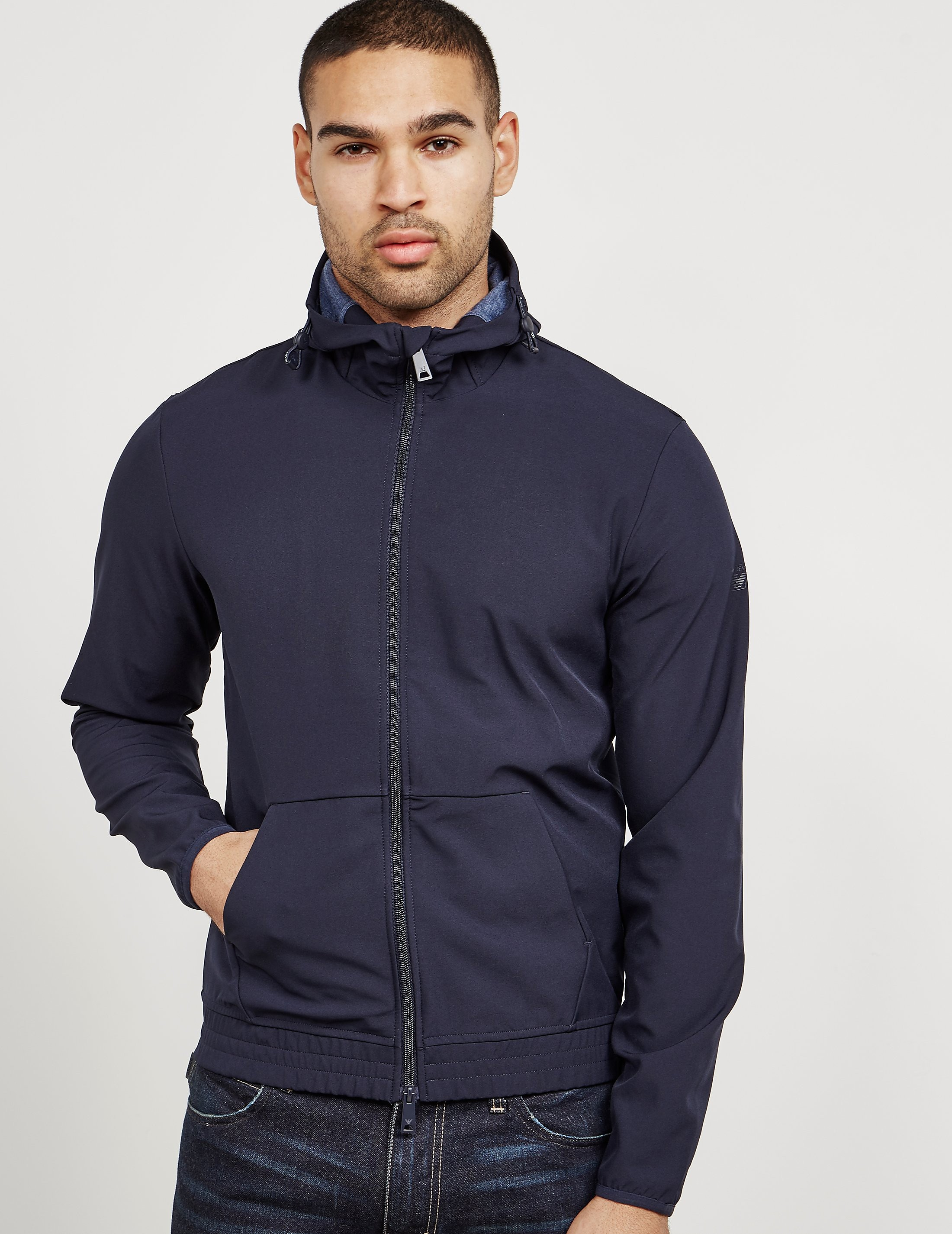 Armani Jeans Soft Shell Hooded Jacket