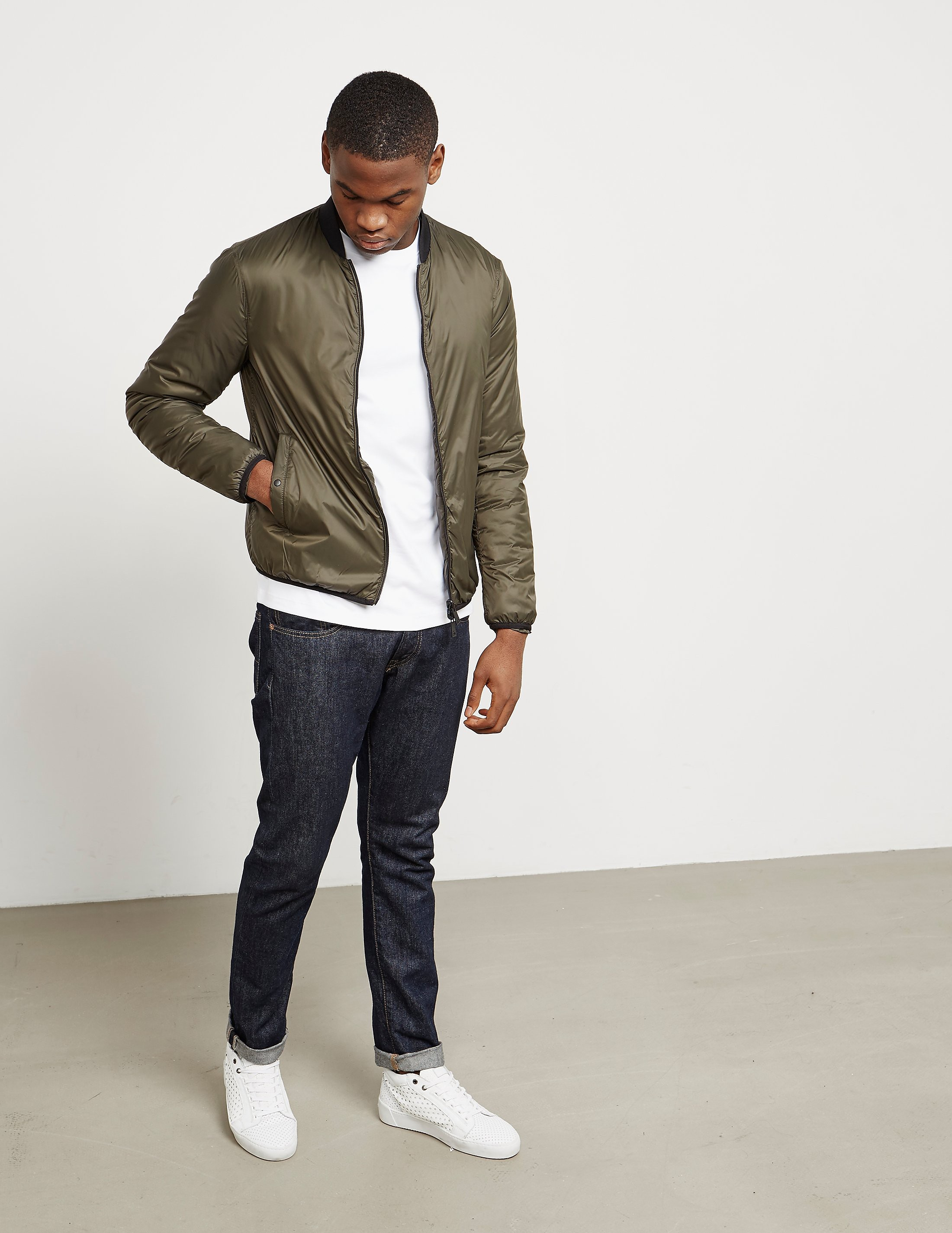Armani Jeans Lightweight Bomber Jacket