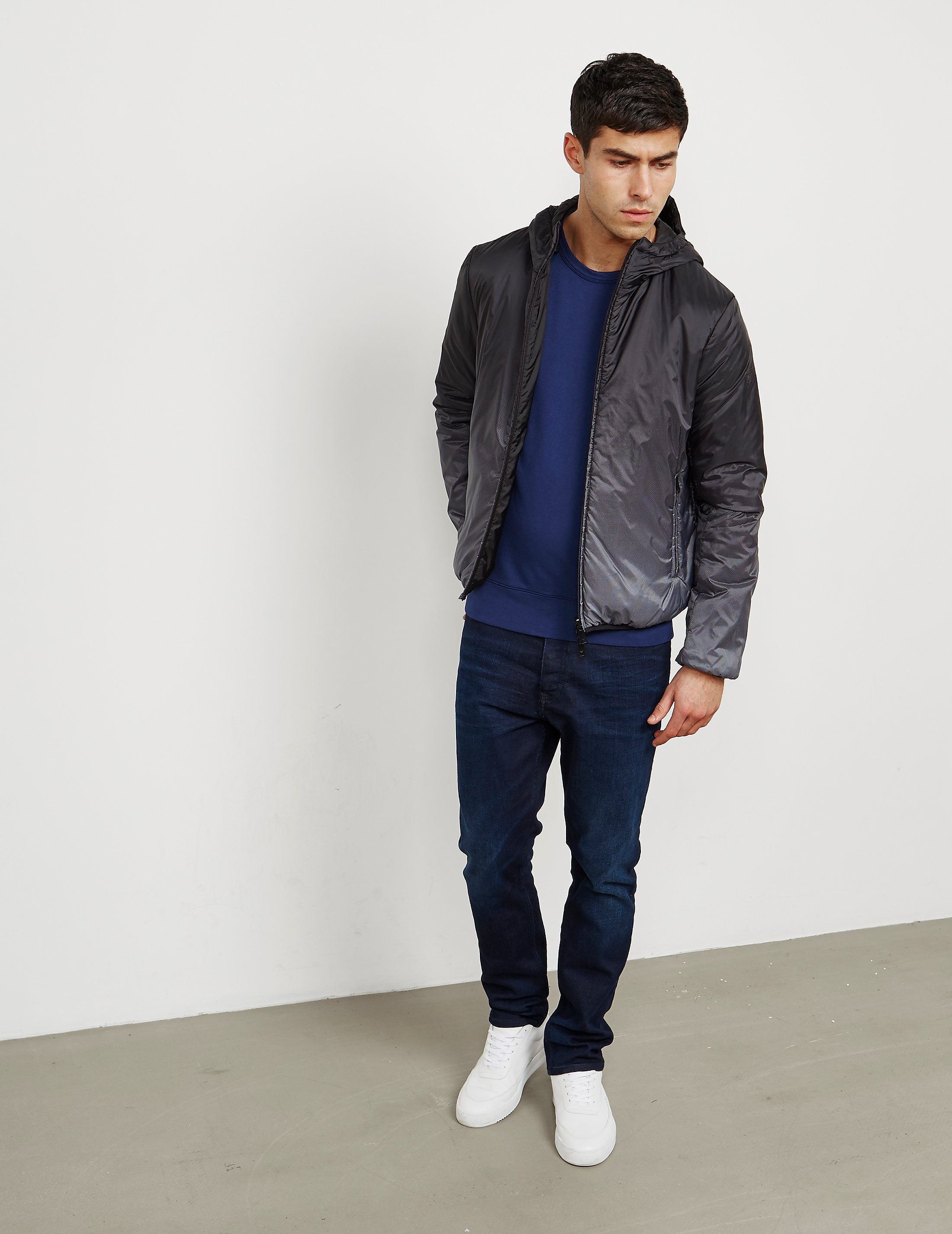 Armani Jeans Reversible Padded Jacket