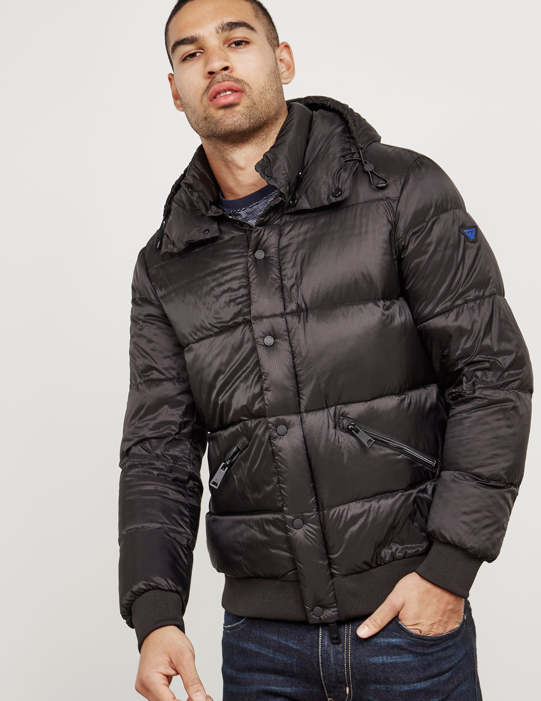 Armani Jeans Quilted Jacket