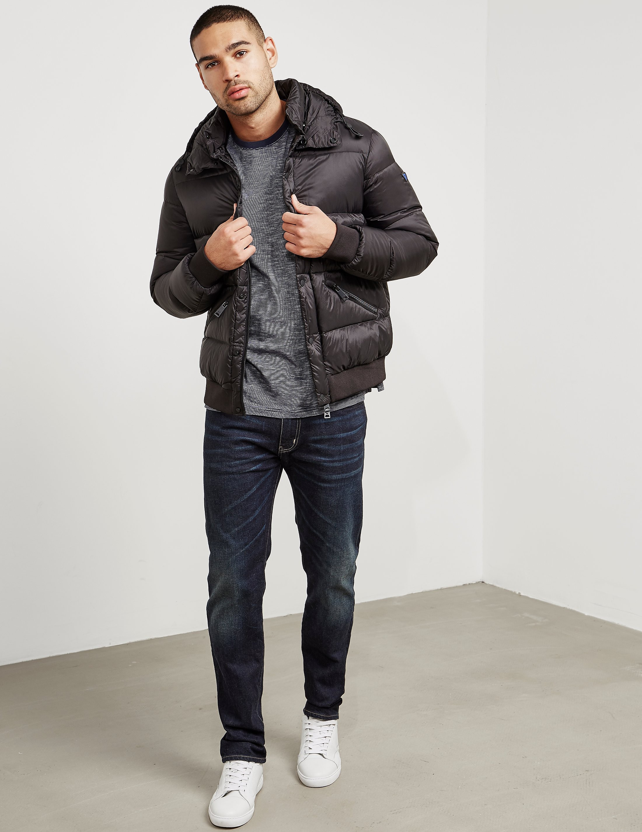 Armani Jeans Quilted Padded Jacket