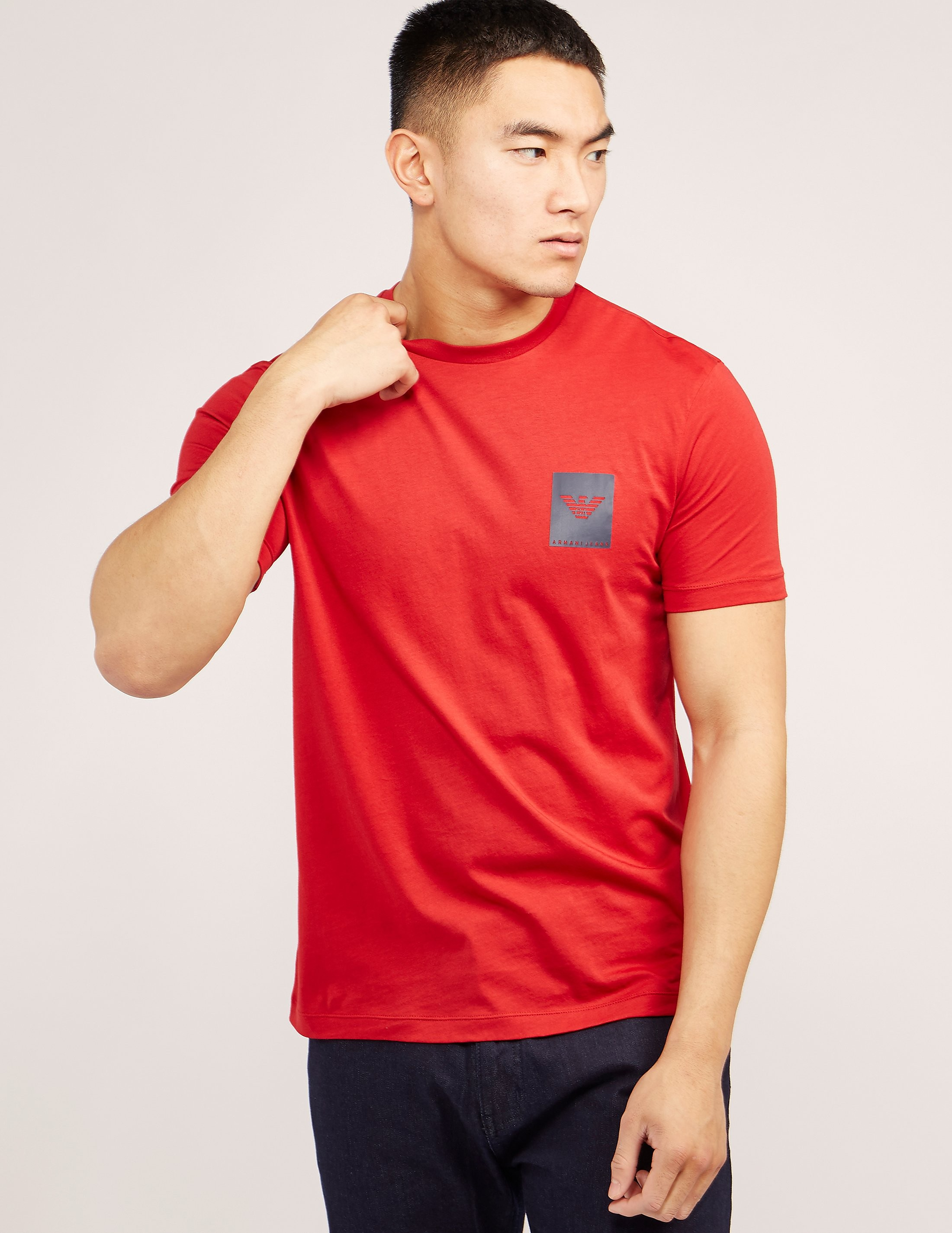 Armani Jeans Small Box Short Sleeve T-Shirt