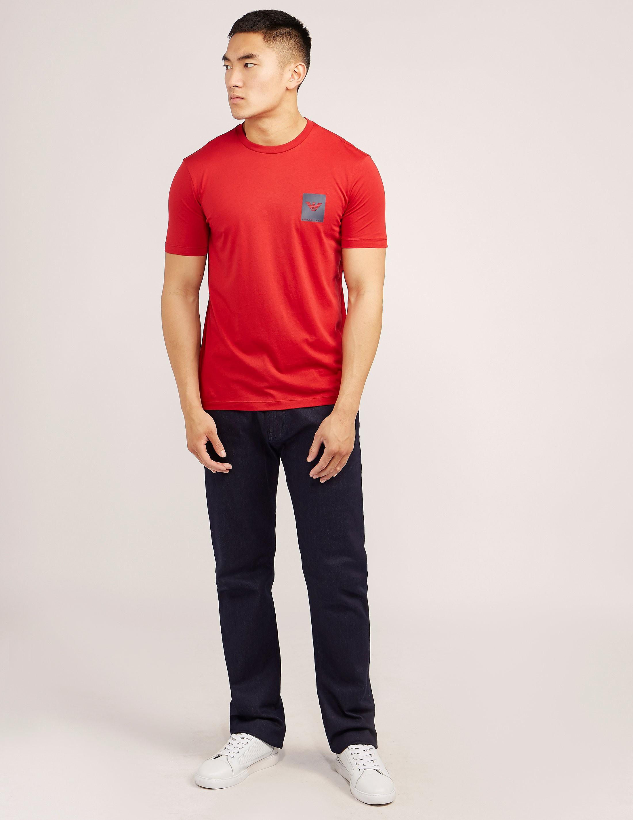Armani Jeans Small Box Short Sleeve T-Shirt
