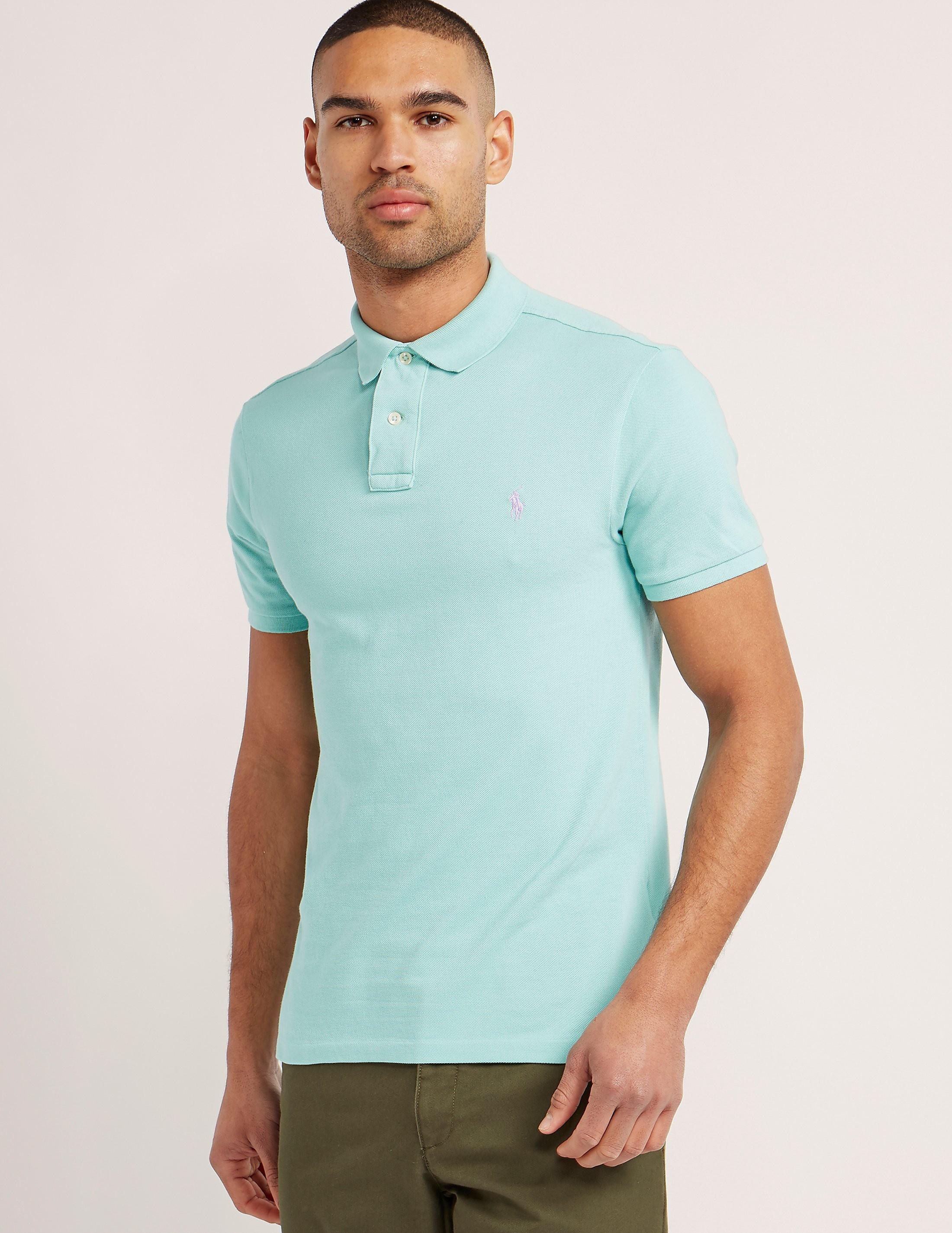 Polo Ralph Lauren Weathered Mesh Polo Shirt