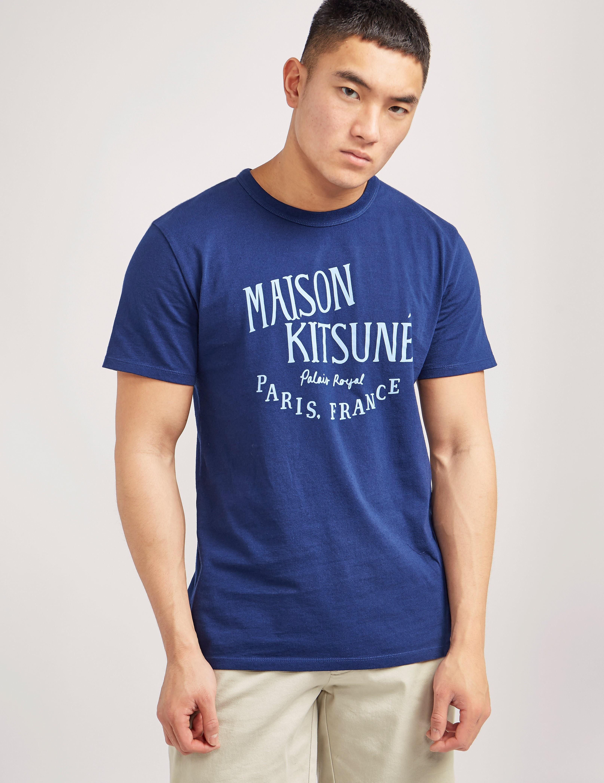 Maison Kitsune Palais Royal Short Sleeve T-Shirt