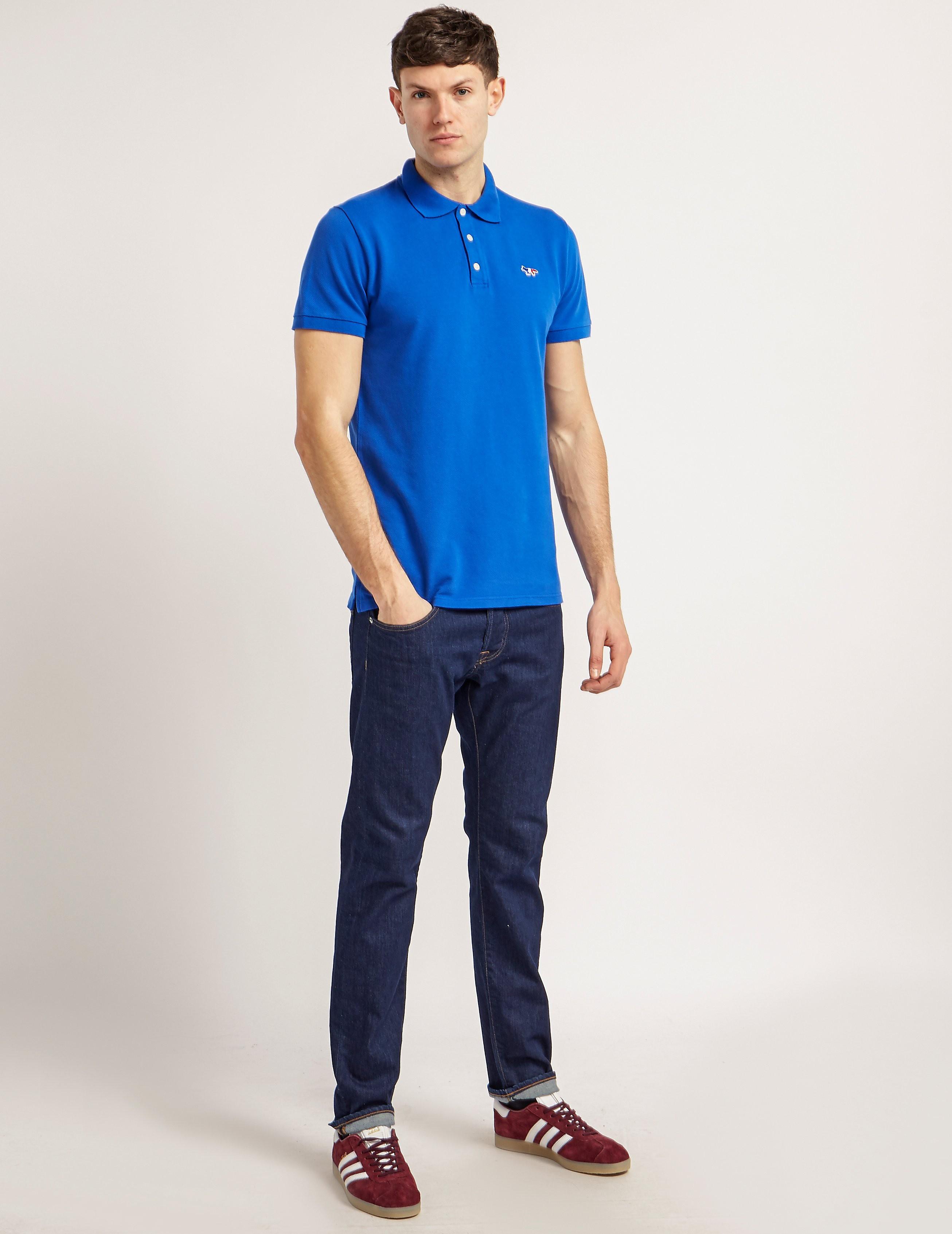 Maison Kitsune Trifox Polo Shirt