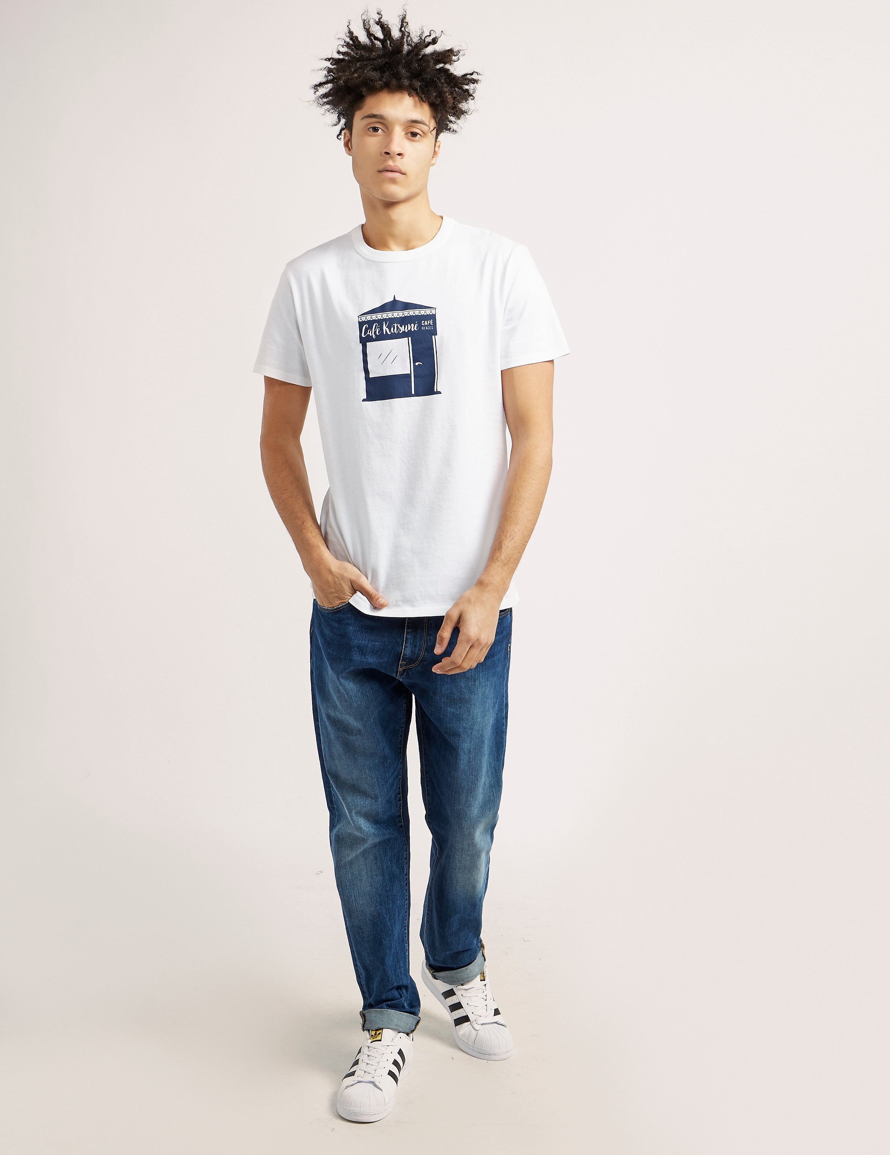 Maison Kitsune Kiosk Short Sleeve T-Shirt