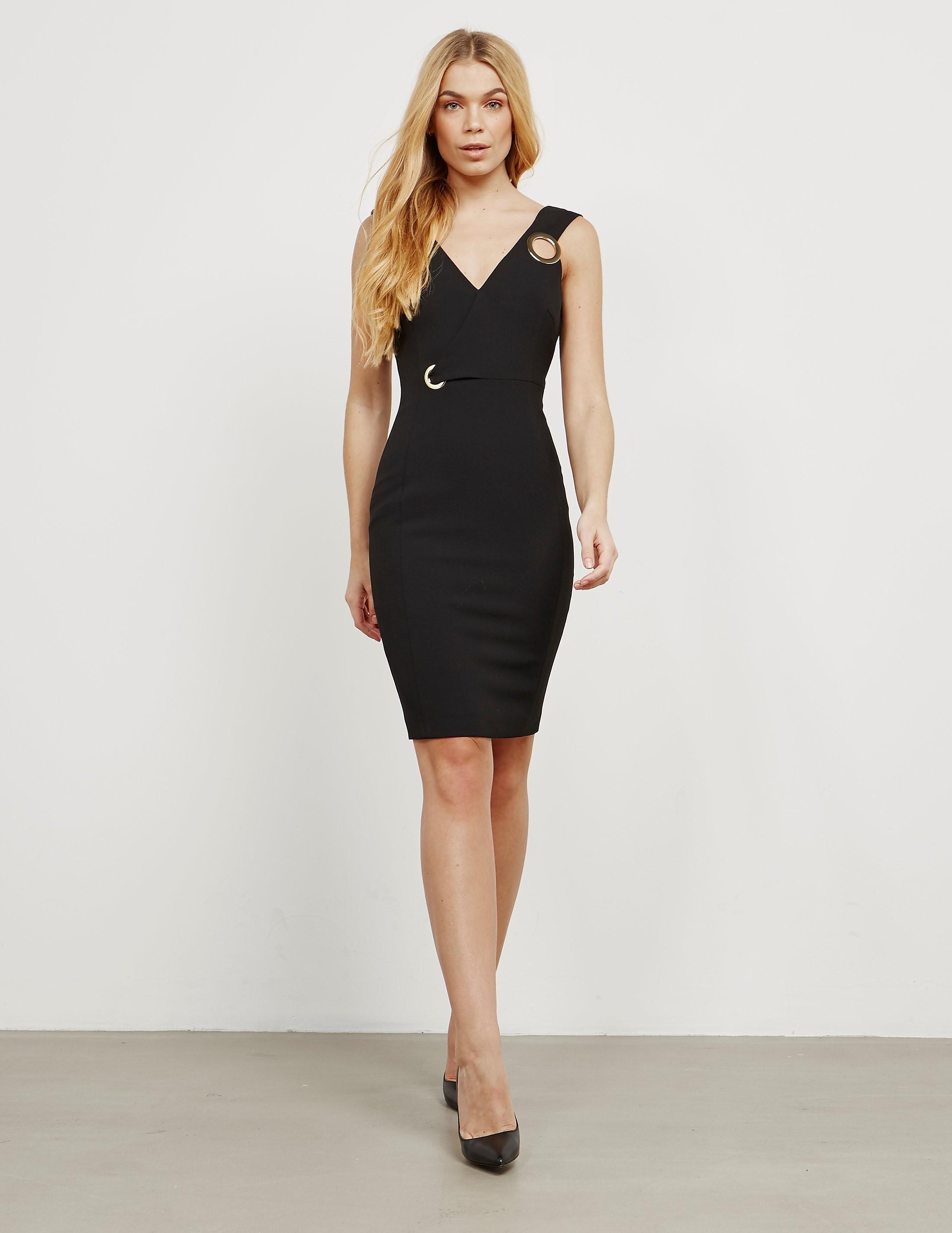 Versace V-Neck Dress