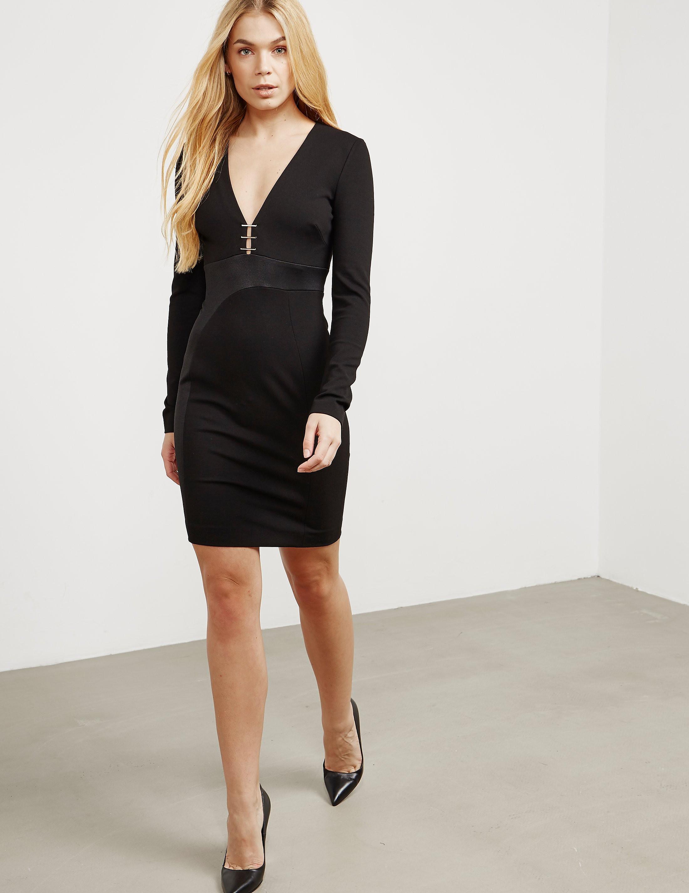 Versace Plunge Dress