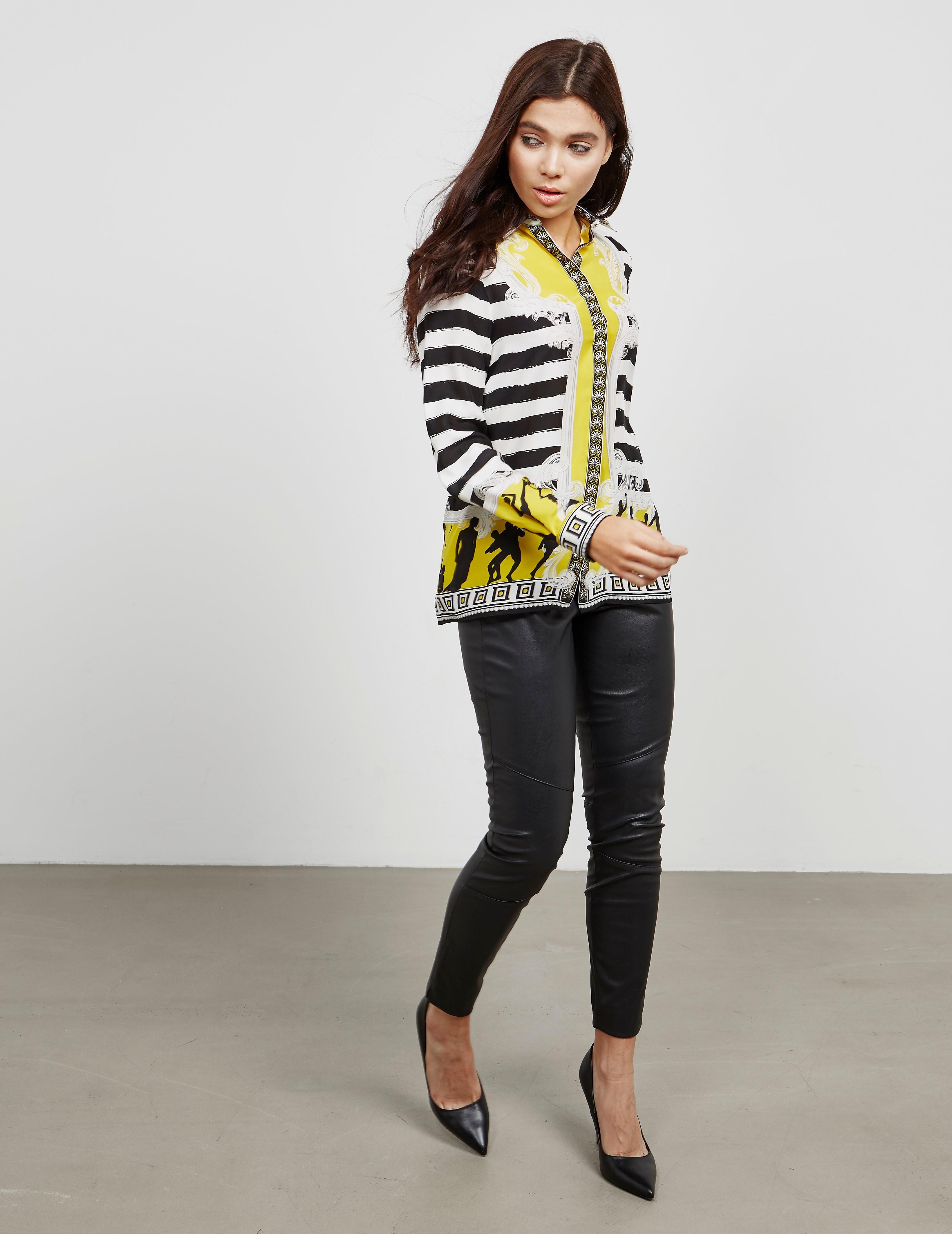 Versace Silk Long Sleeve Shirt