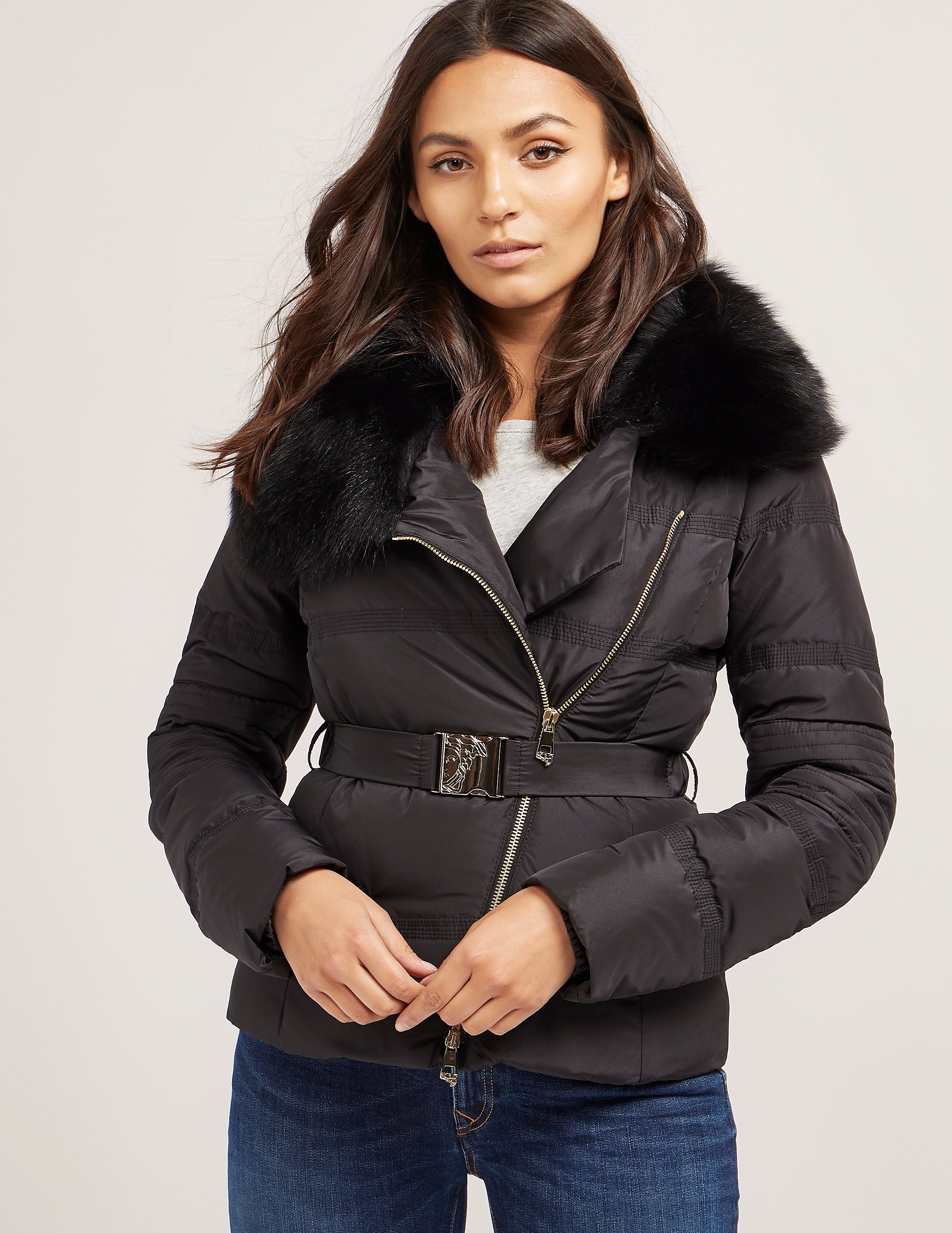 Versace Short Padded Jacket