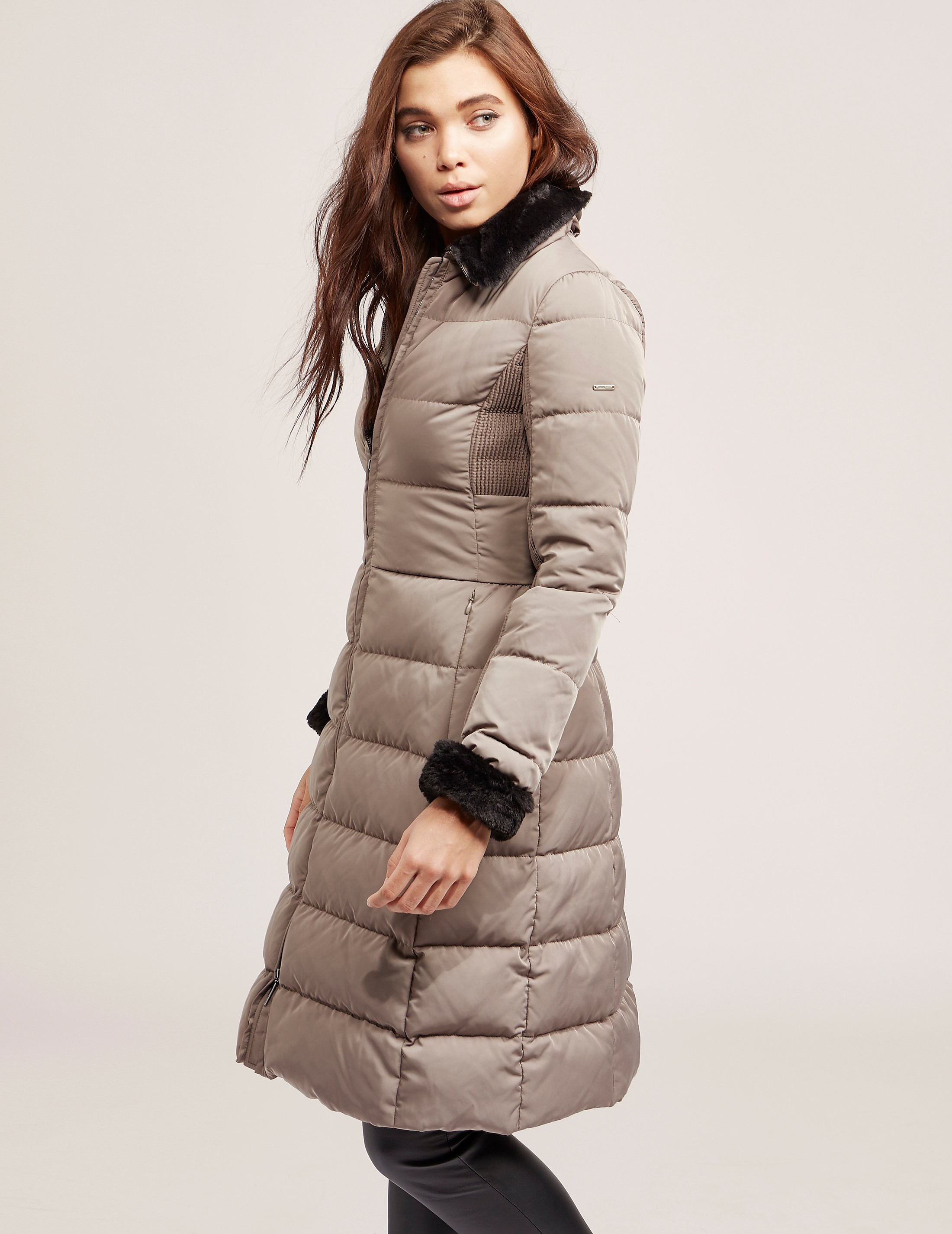 Armani Jeans Long Down Jacket