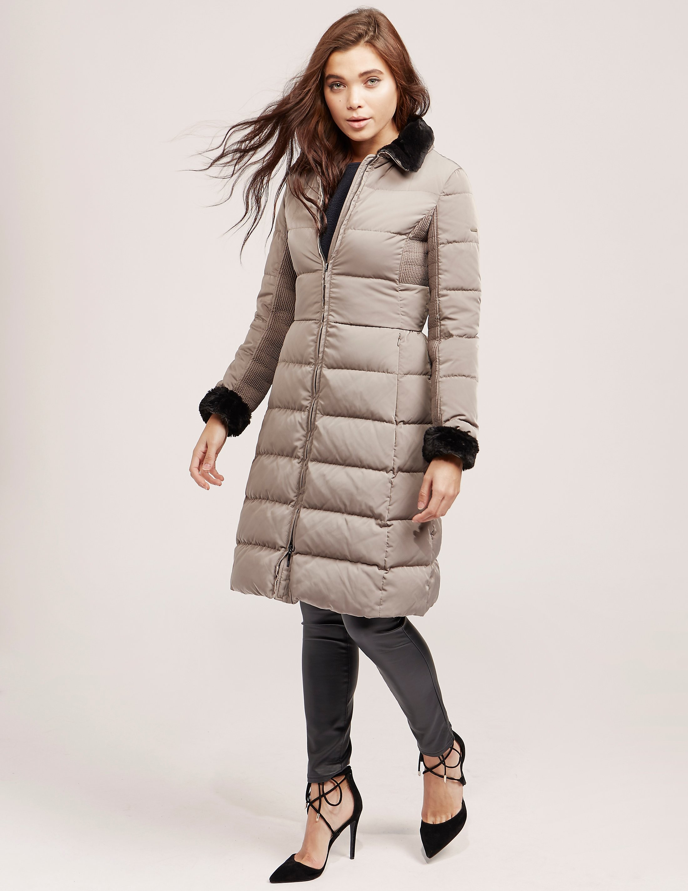 Armani Jeans Long Down Padded Jacket
