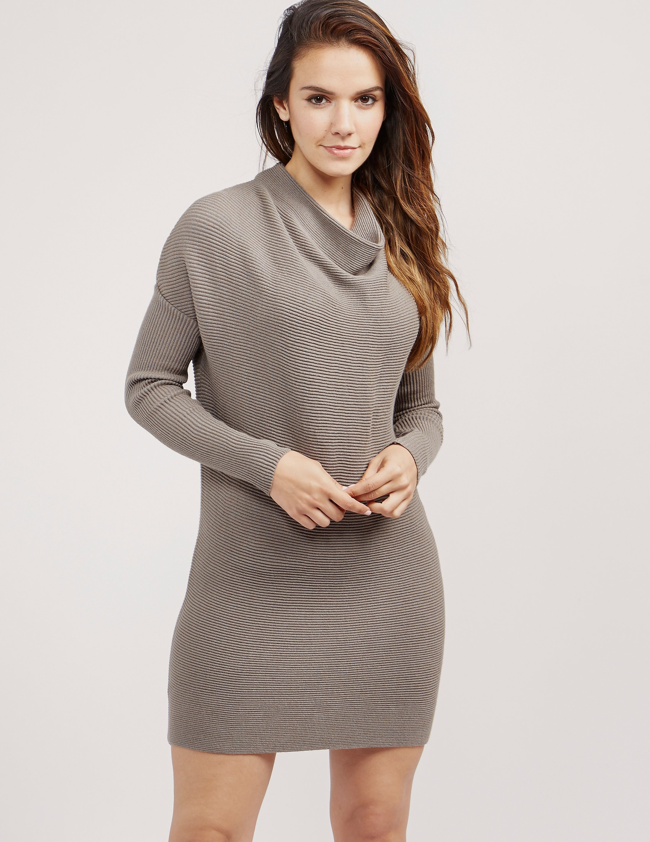 Armani Jeans Cowl Neck Dress