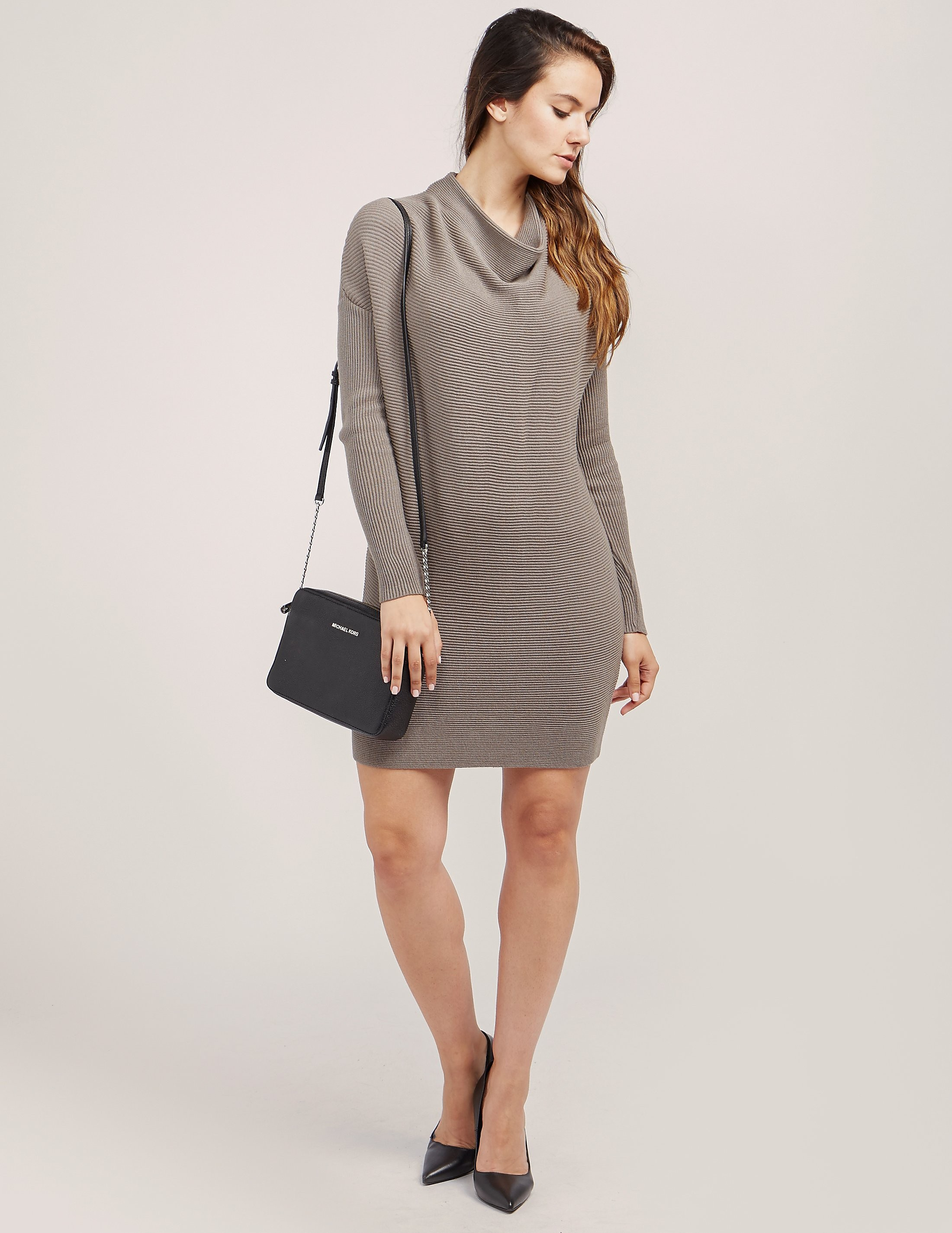 Armani Jeans Cowl Neck Dress