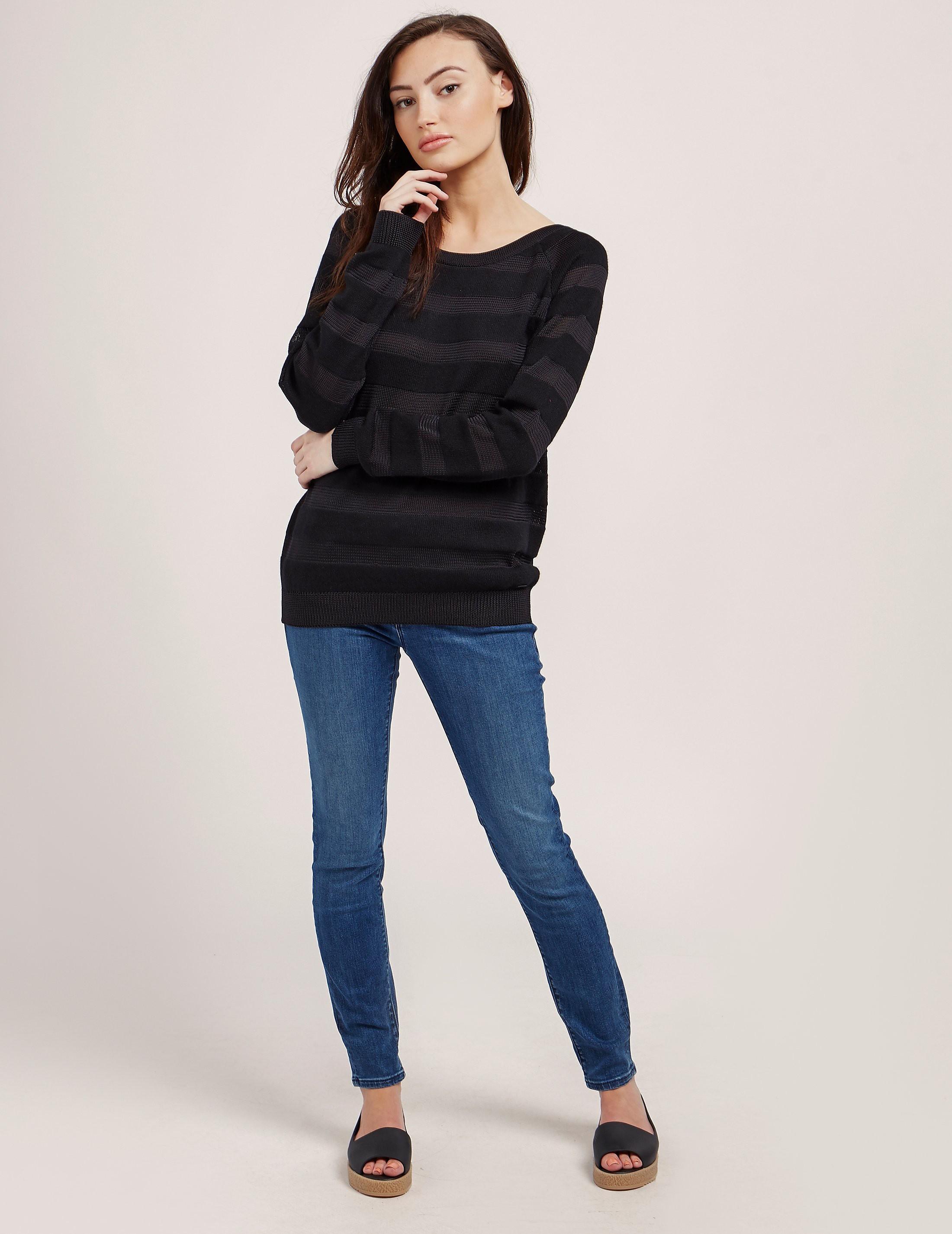 Armani Jeans Burn Out Knit