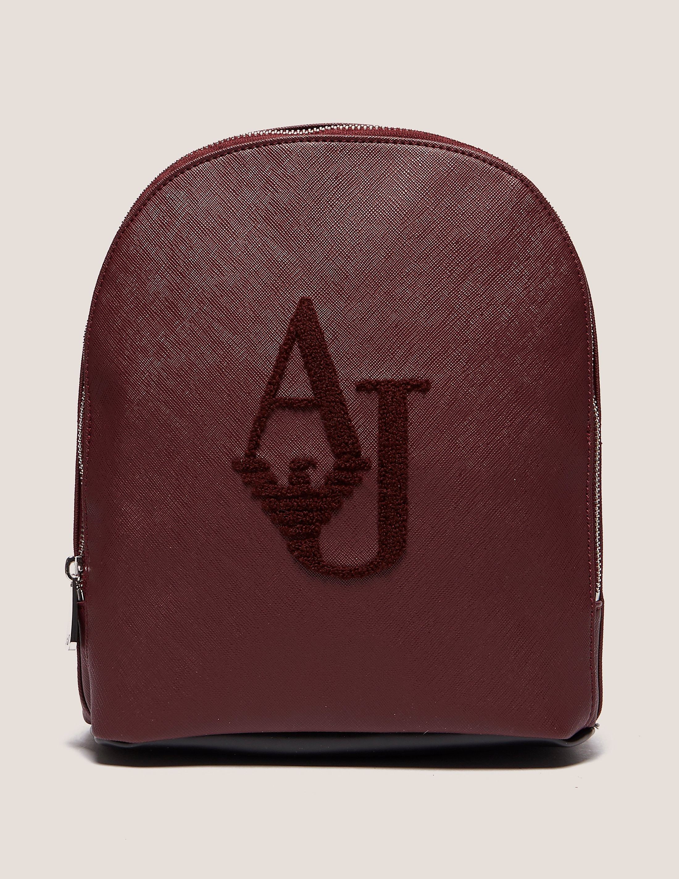Armani Jeans Flocked Logo Backpack