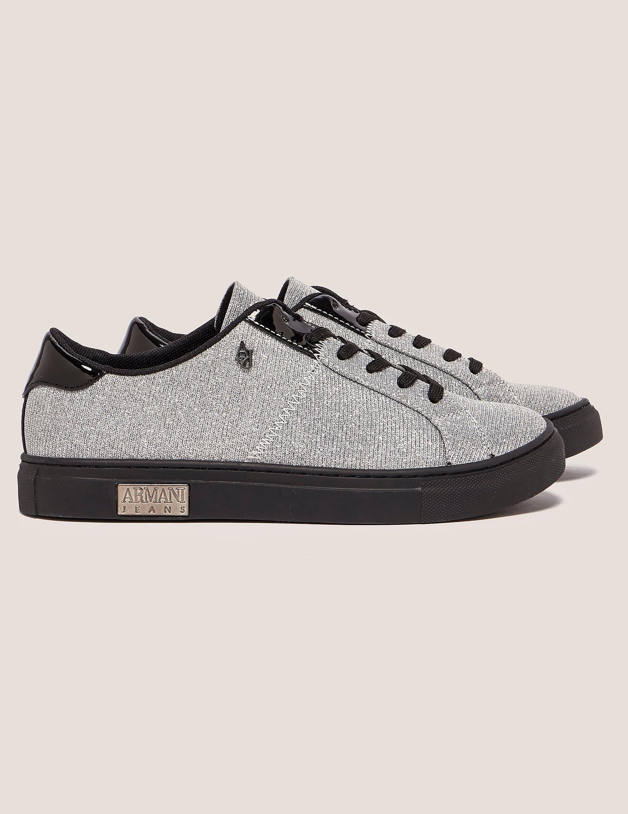 Armani Jeans Knit Sneaker