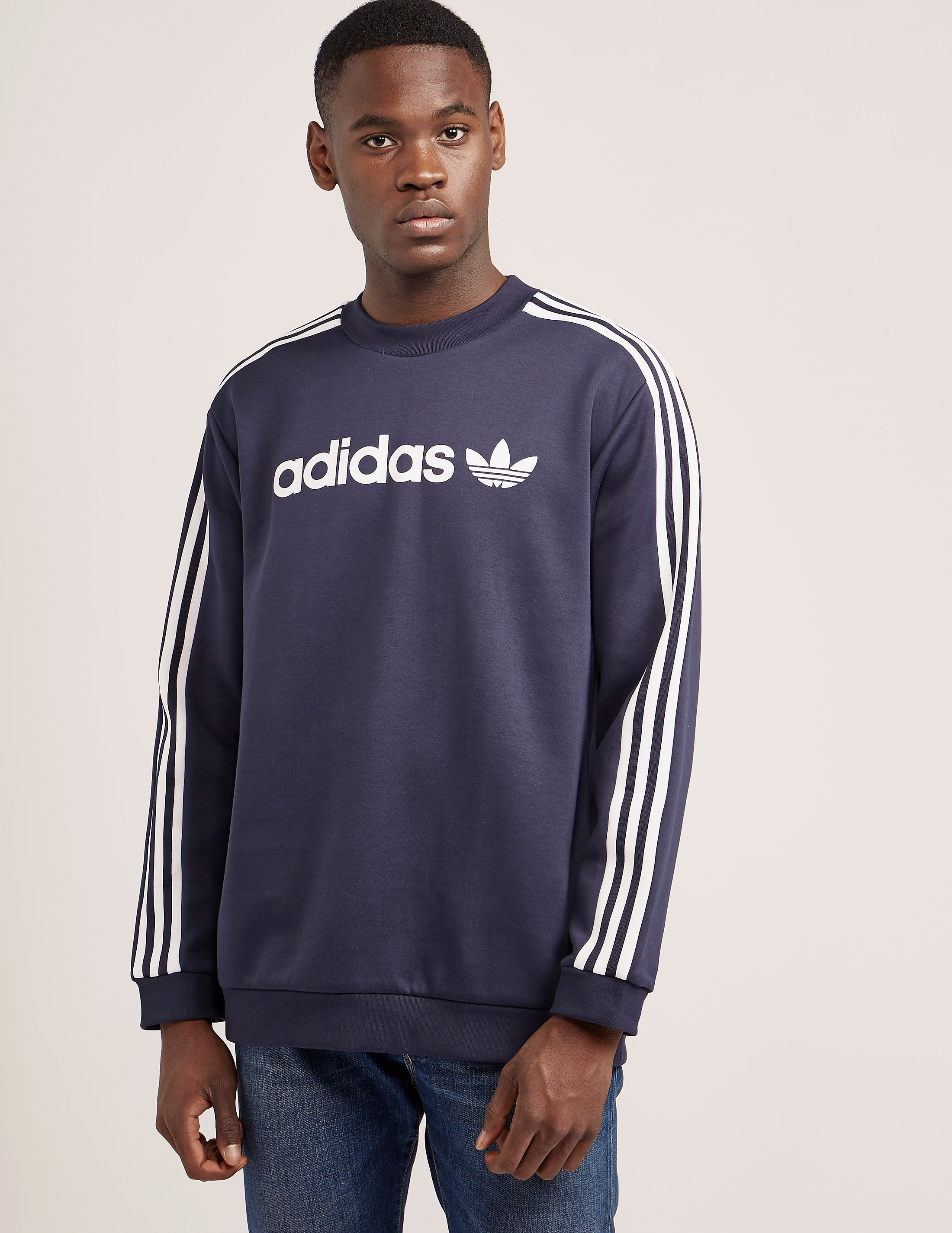 adidas Originals Linear Trefoil Sweatshirt
