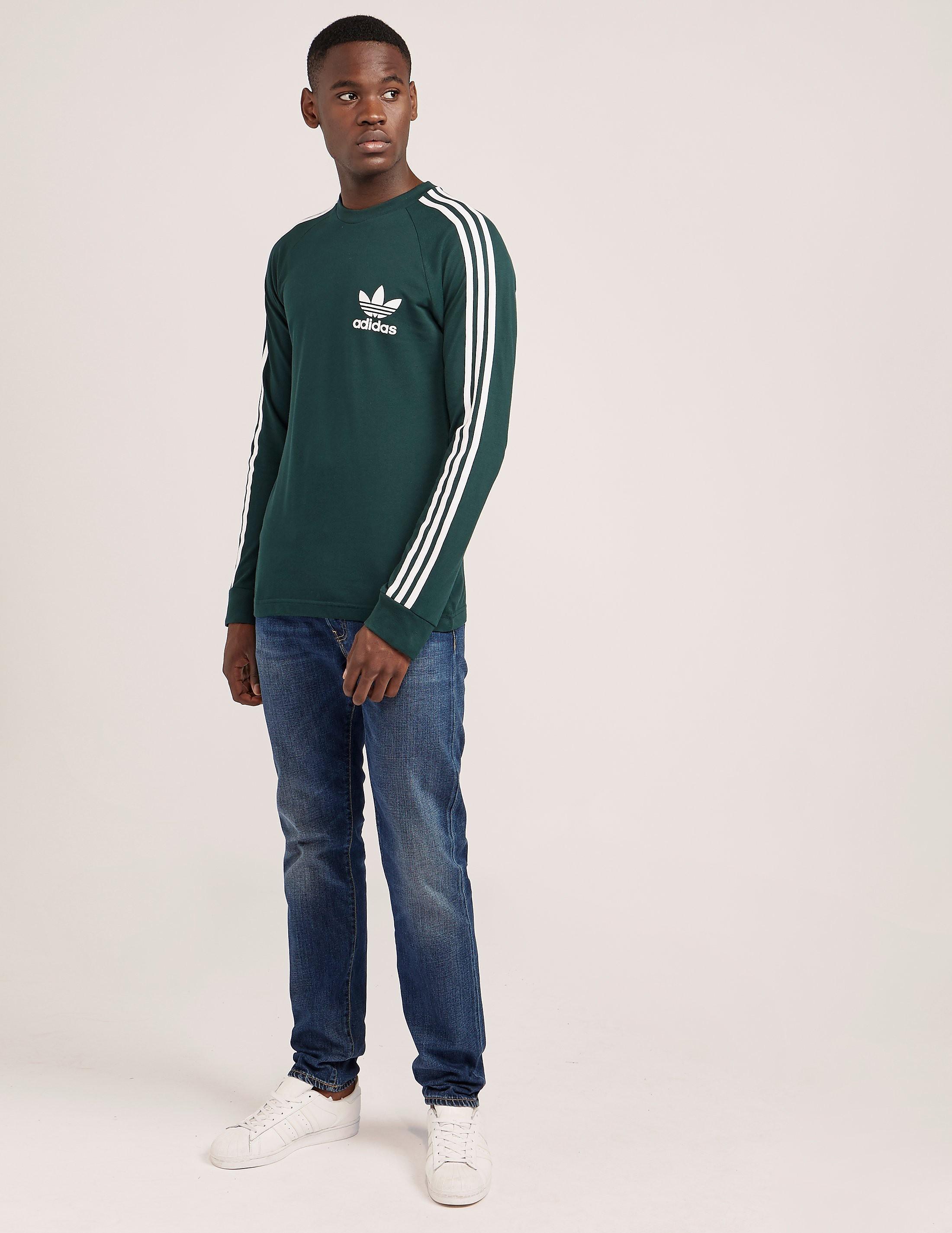 adidas Originals Long Sleeve California Pique T-Shirt