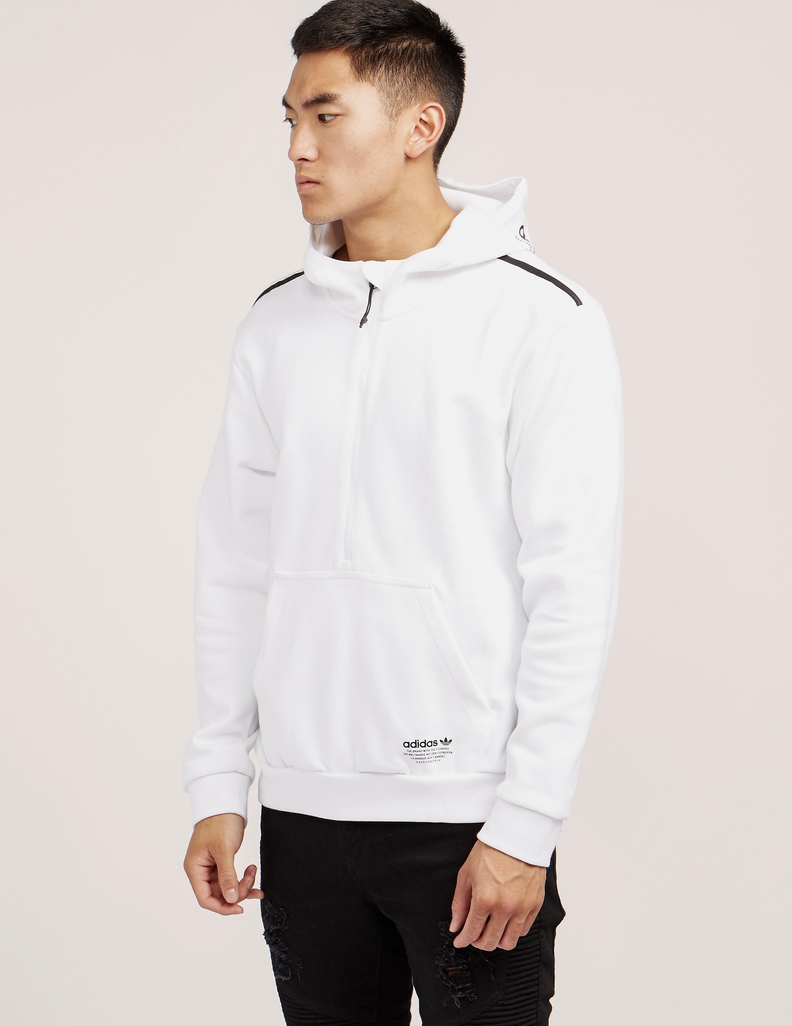 adidas Originals NMD Half Zip Fleece Hoody
