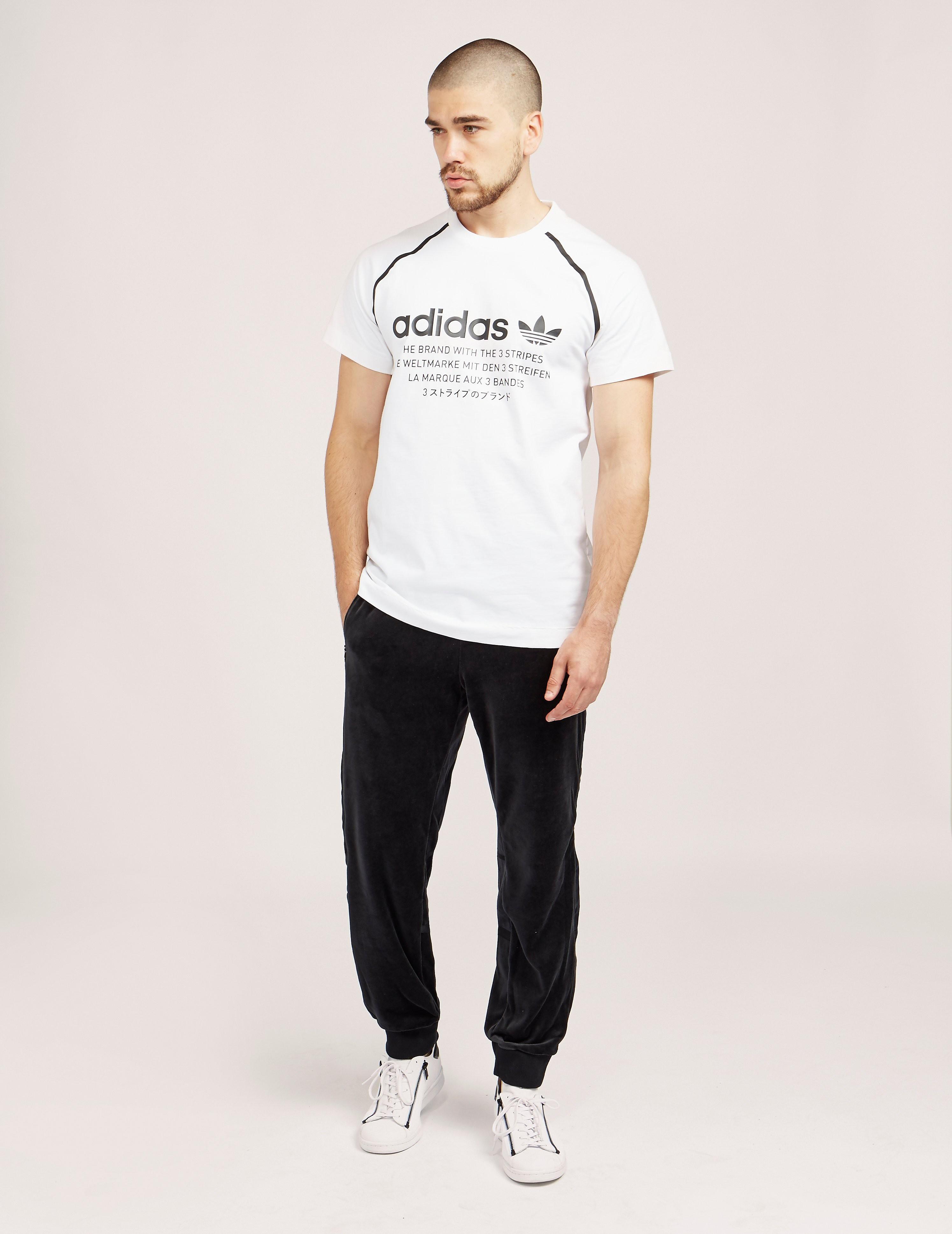 adidas Originals NMD Logo Short Sleeve T-Shirt