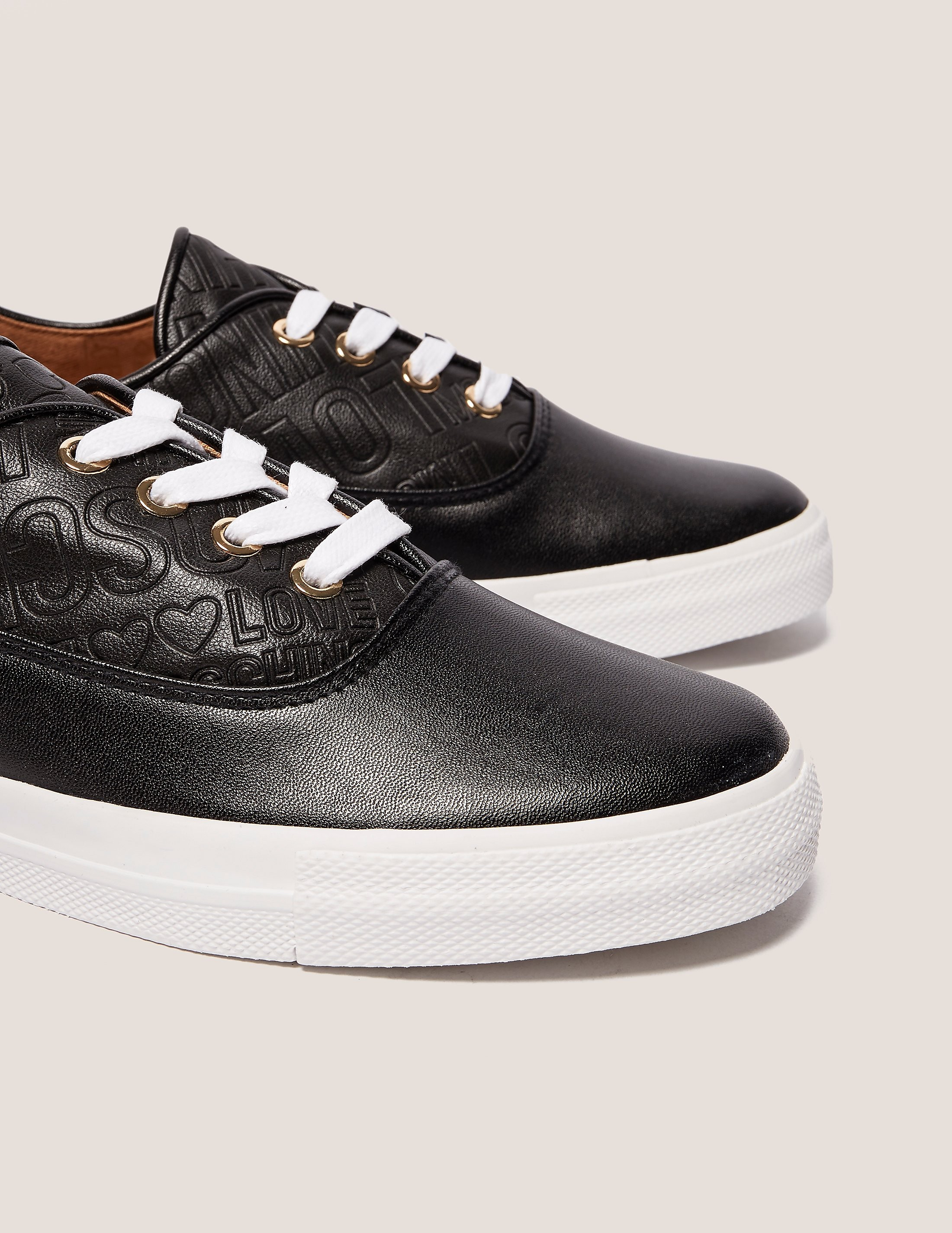 Love Moschino Embossed Trainer