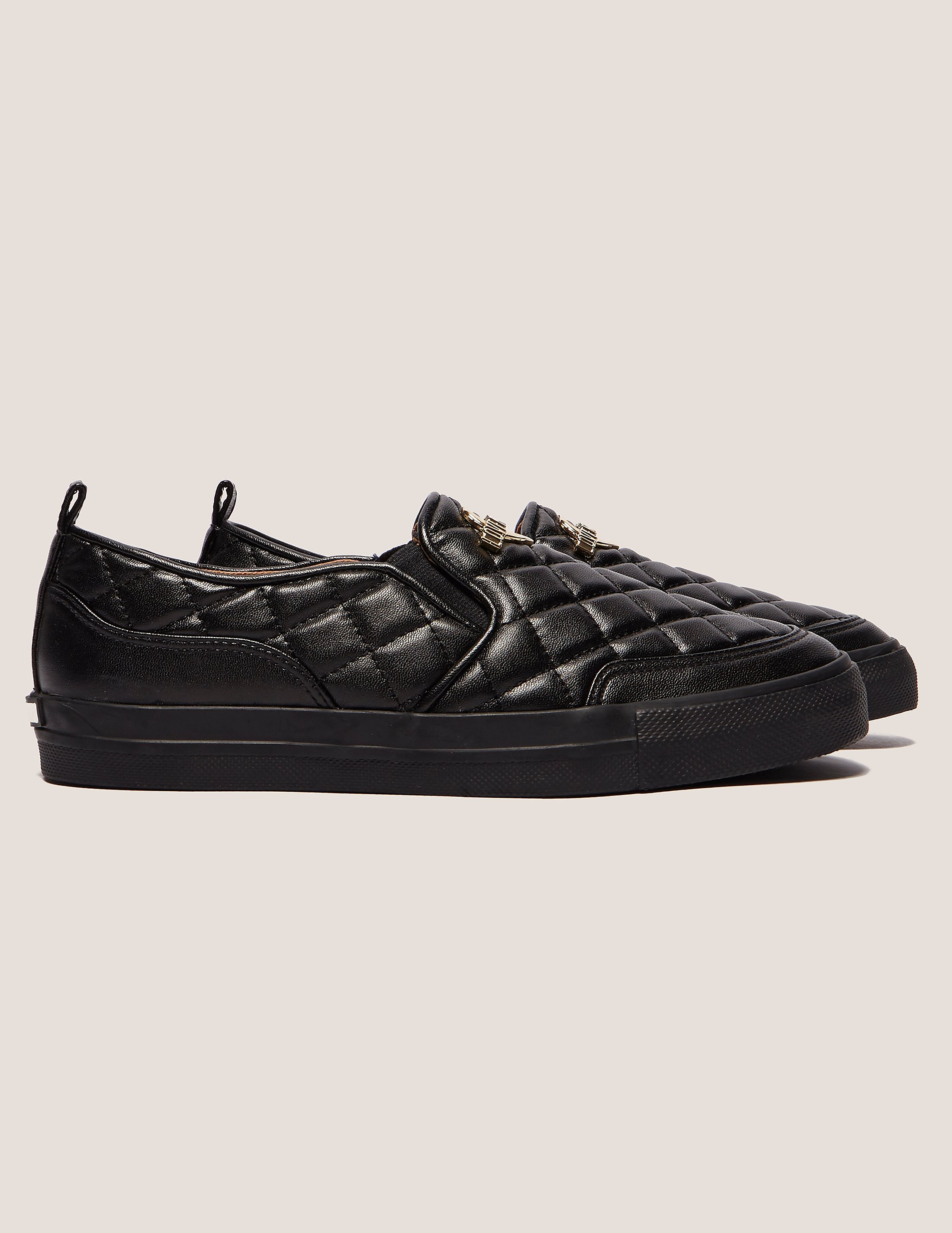 Love Moschino Quilted Slip On Sneakers