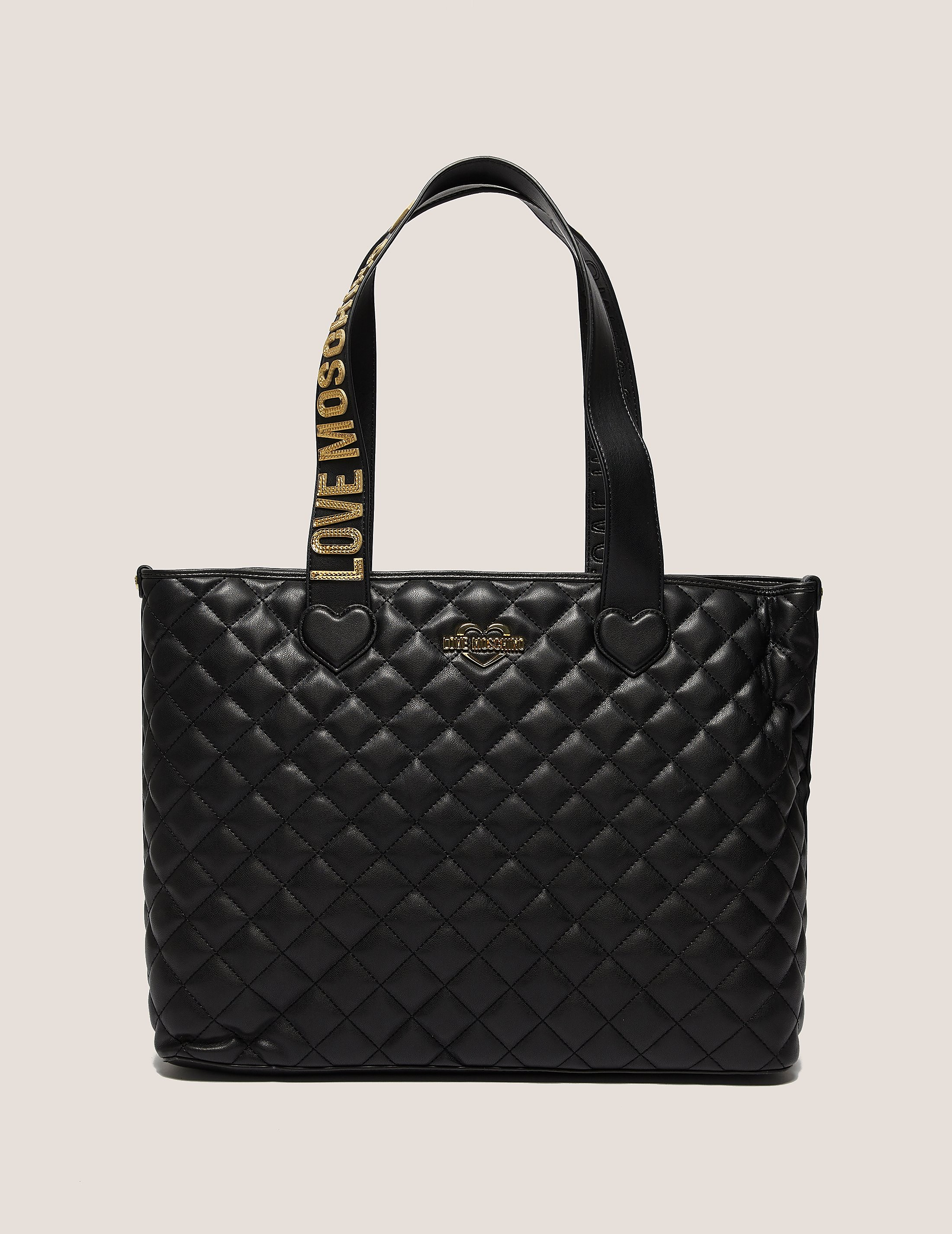 Love Moschino Quilted Shopper Bag