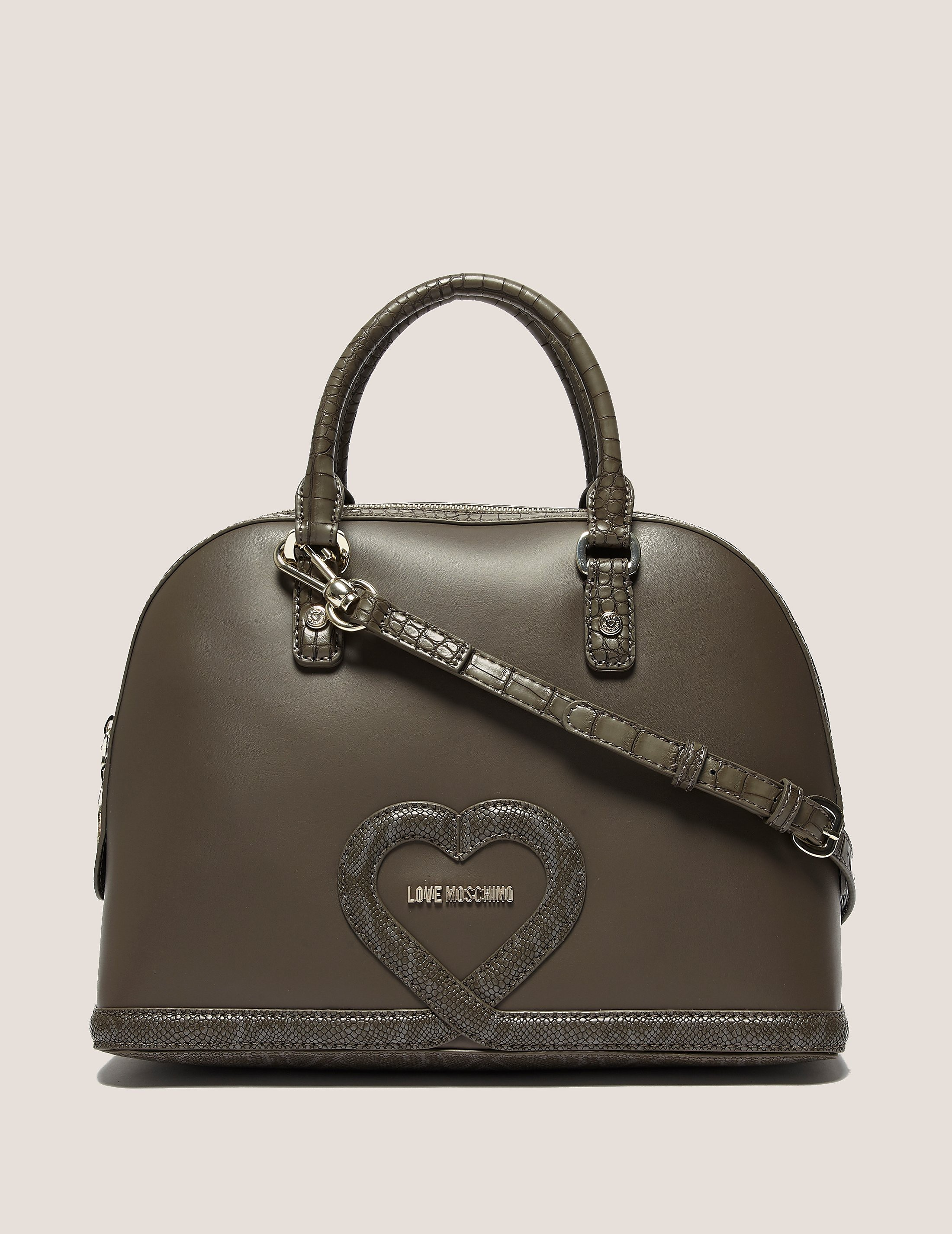 Love Moschino Dome Satchel Bag