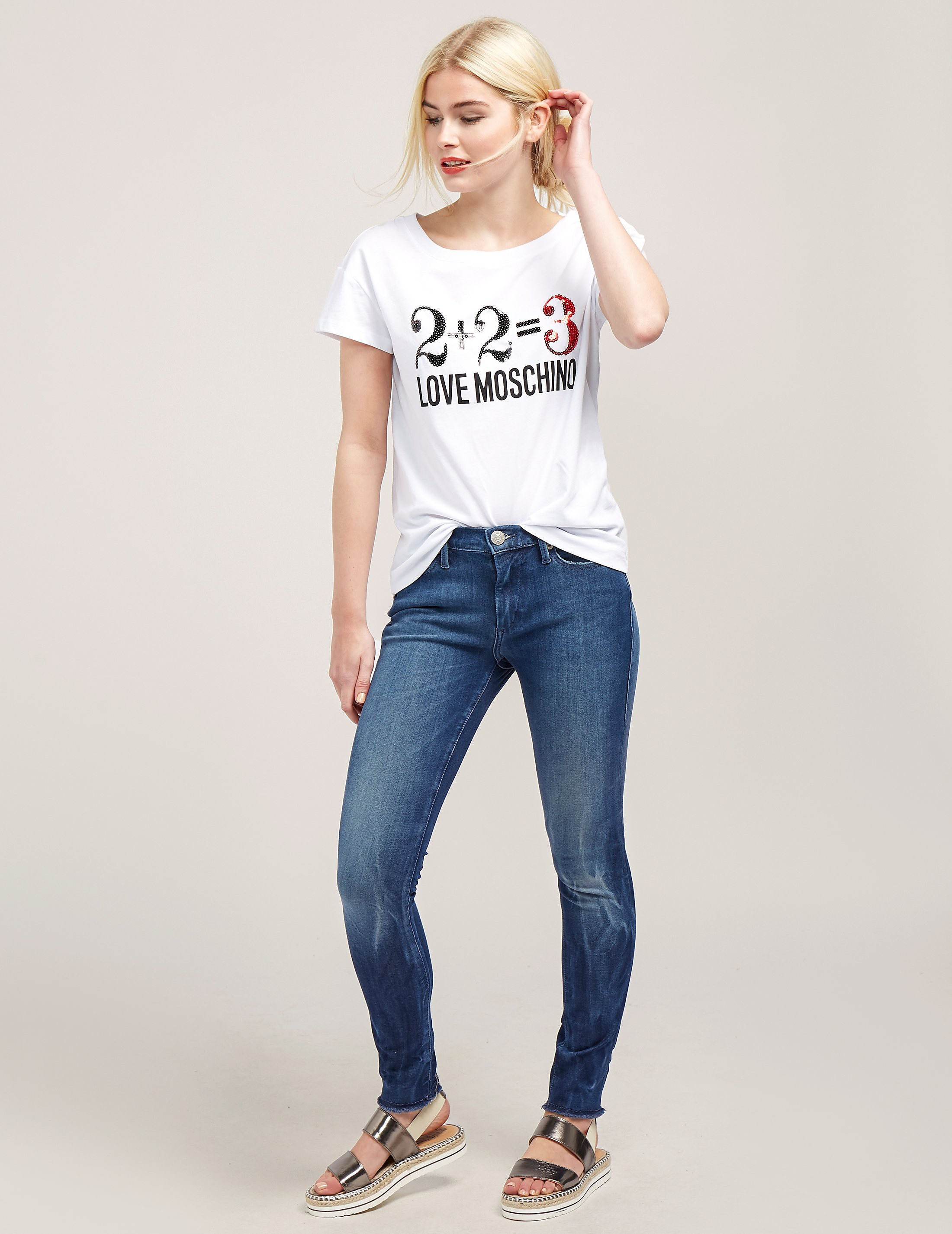 Love Moschino 2+2 Short Sleeve T-Shirt