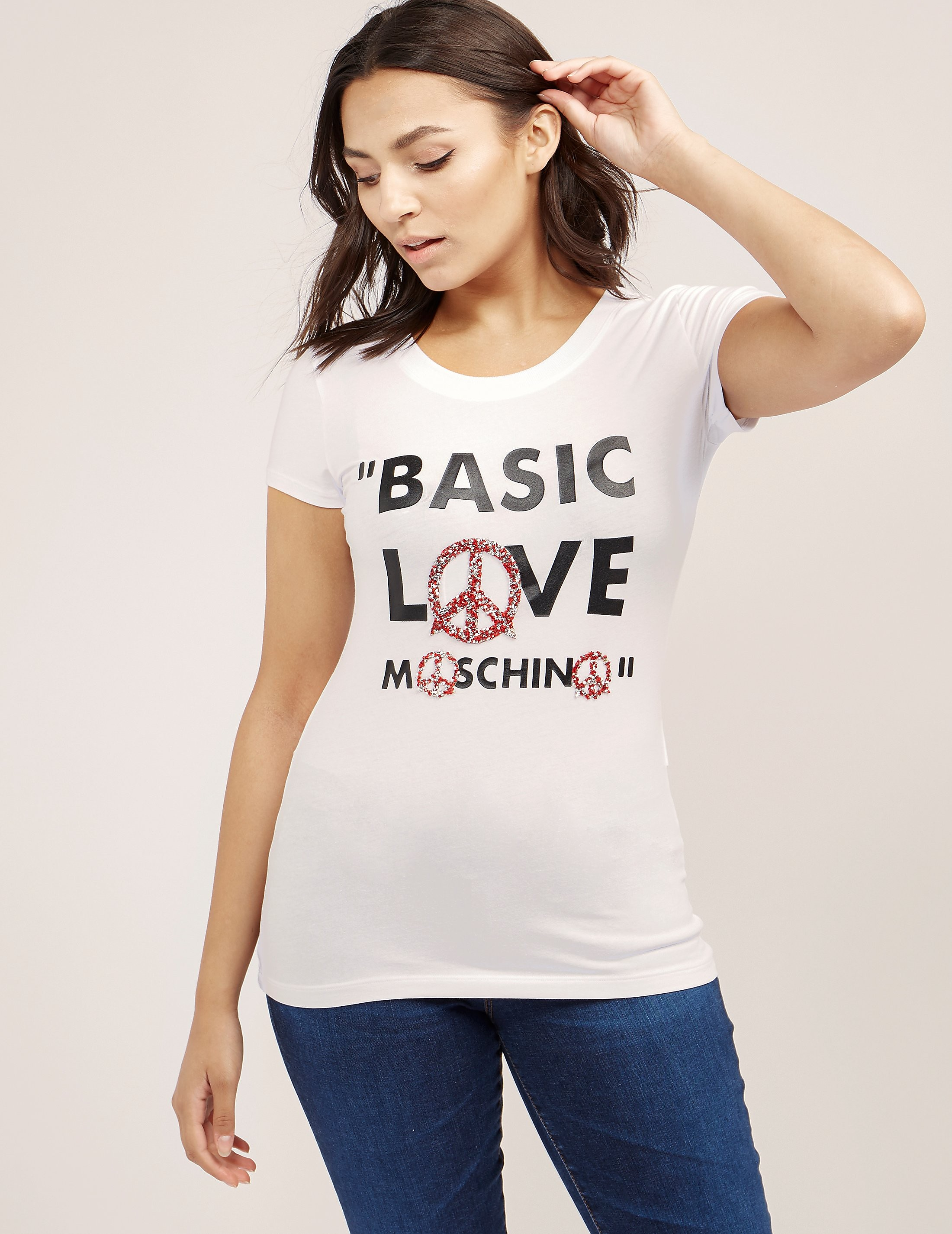 Love Moschino Basic Love Short Sleeve T-Shirt