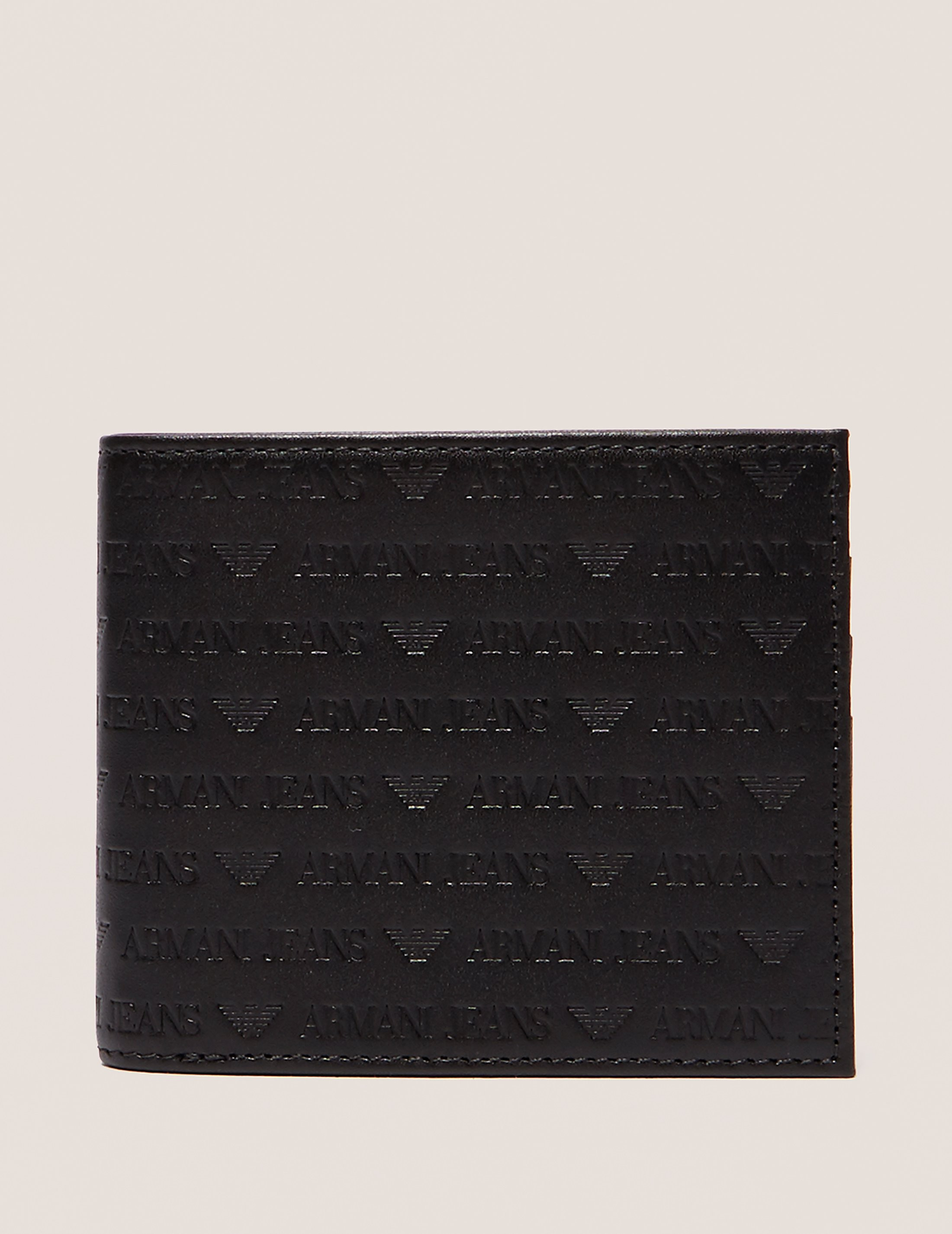 Armani Jeans Embossed Logo Wallet