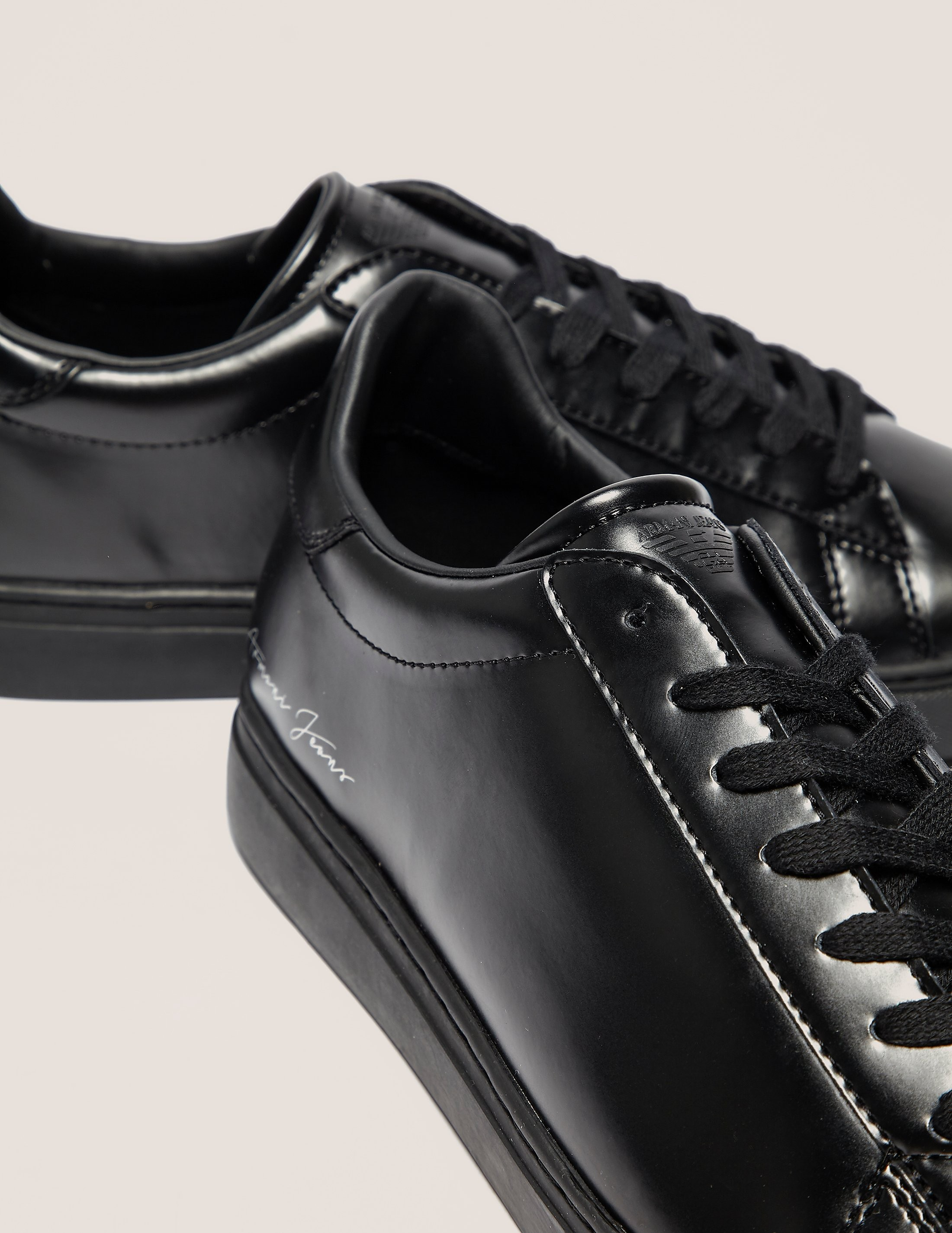 Armani Jeans Cup Trainers