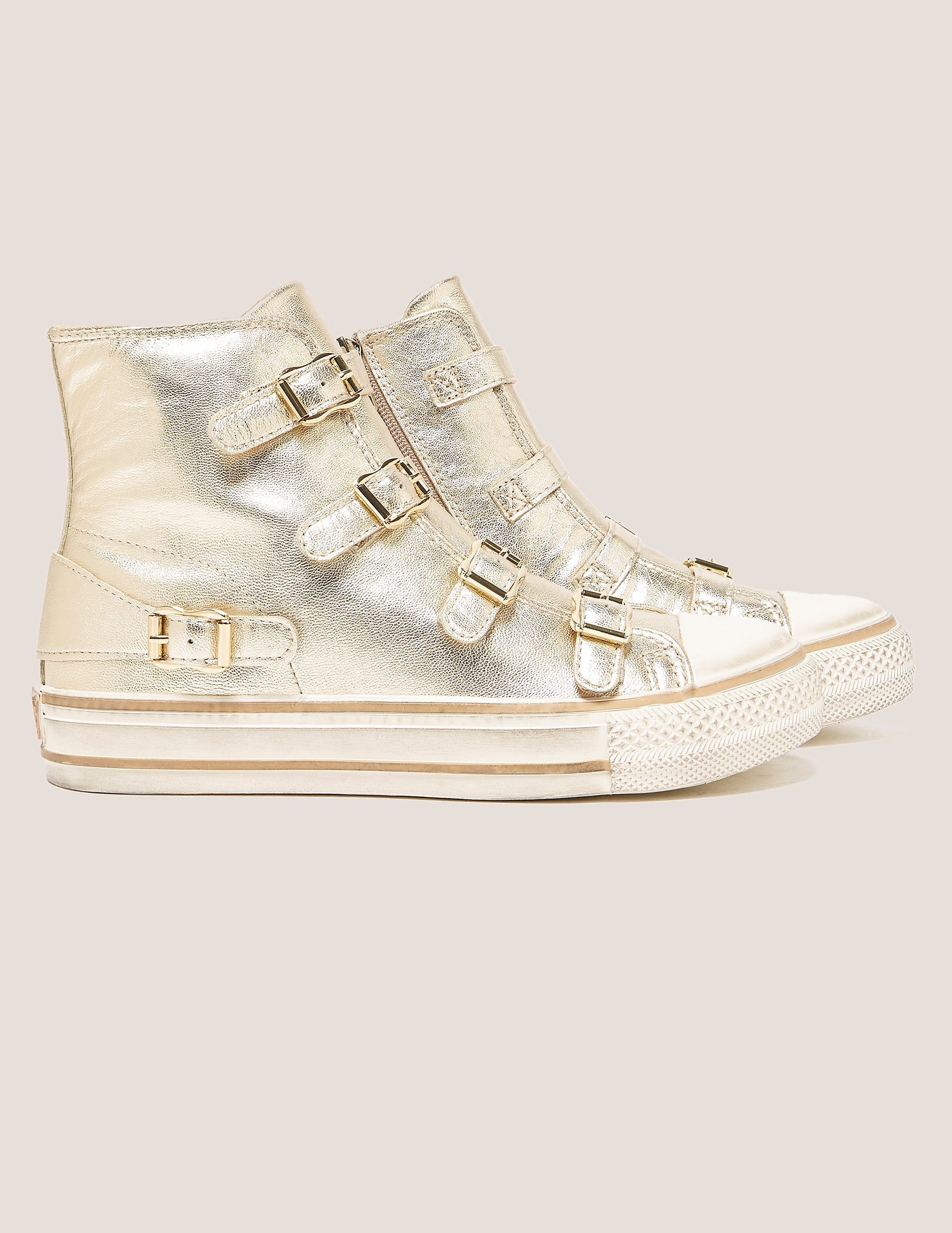Ash Virgin Buckle High Tops
