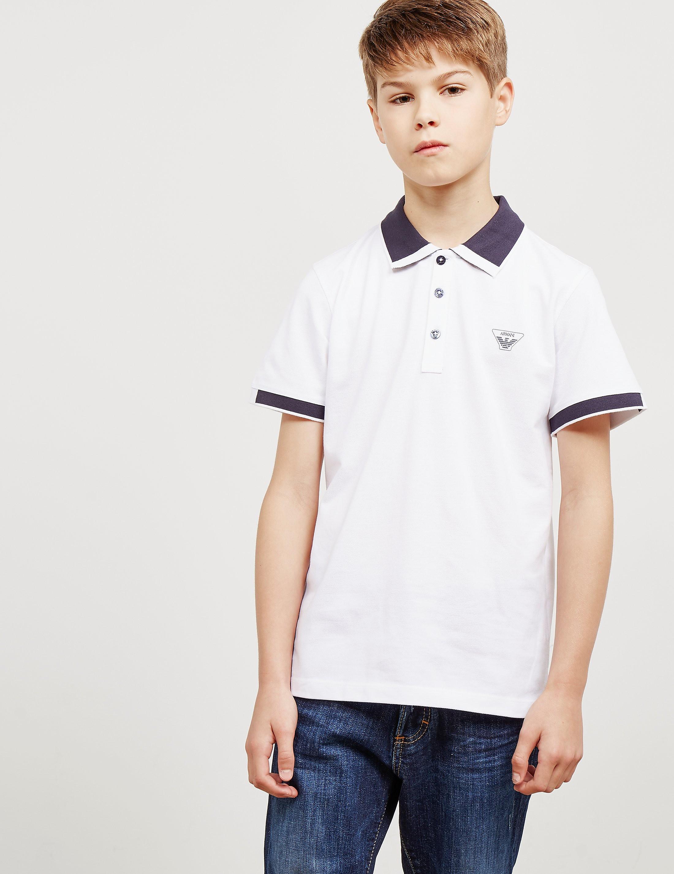 Armani Jeans Short Sleeve Polo Shirt