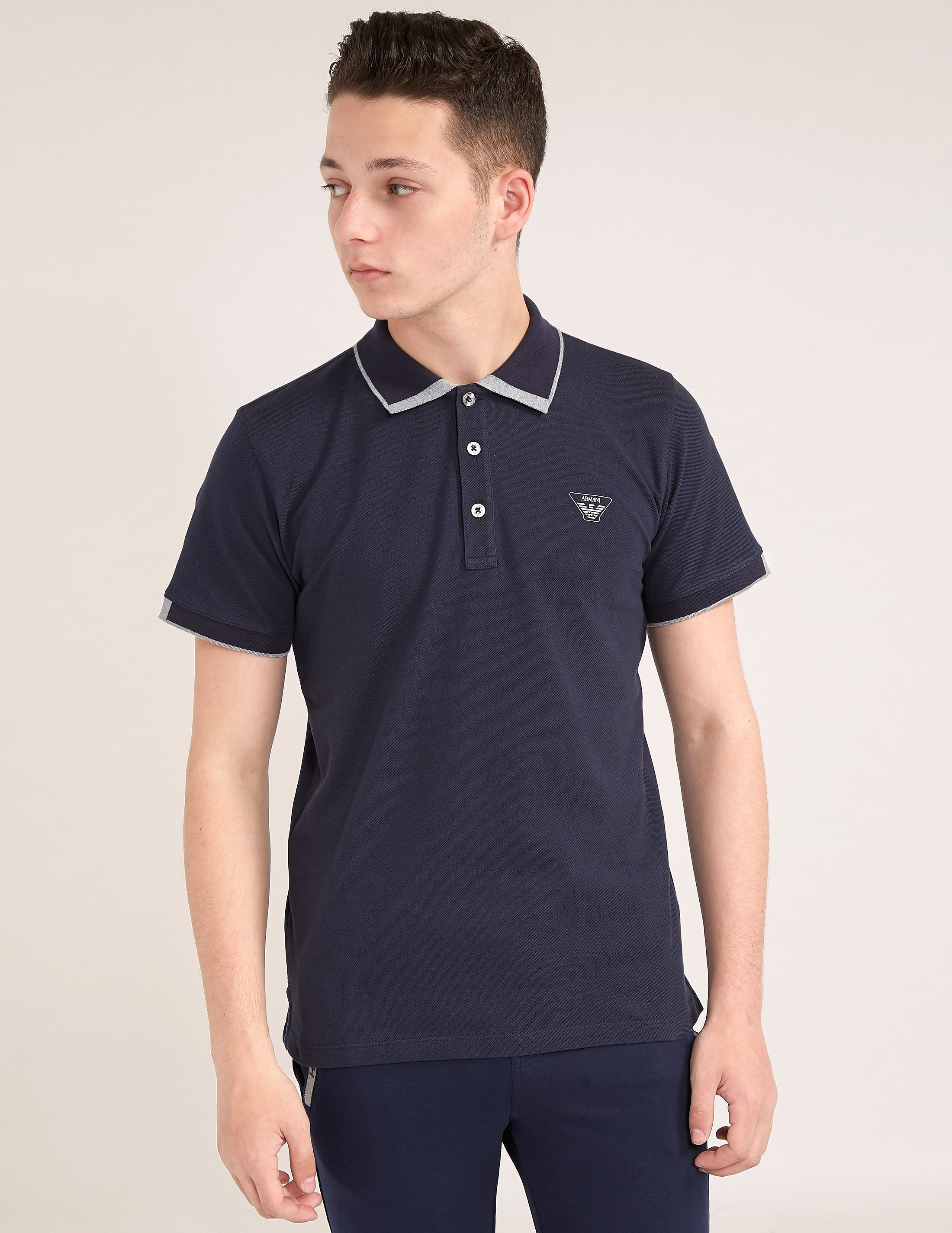 Armani Jeans Short Sleeve Polo Shirt