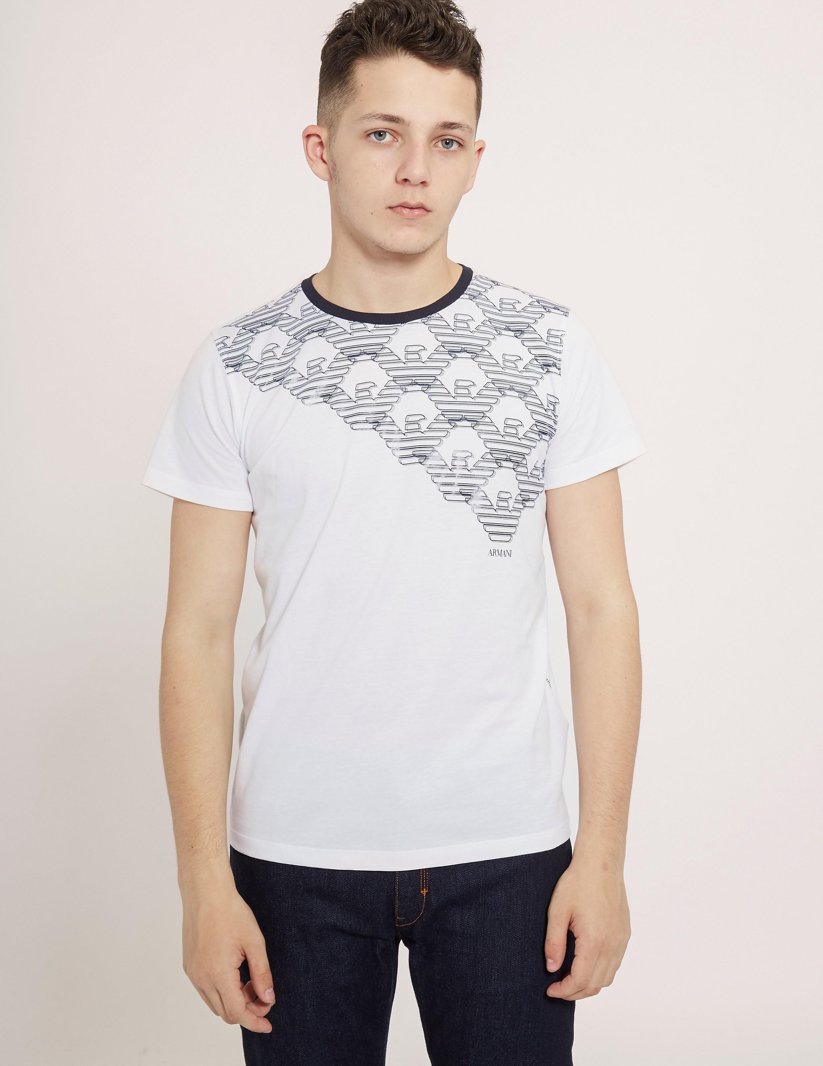 Armani Jeans Short Sleeve Logo T-Shirt