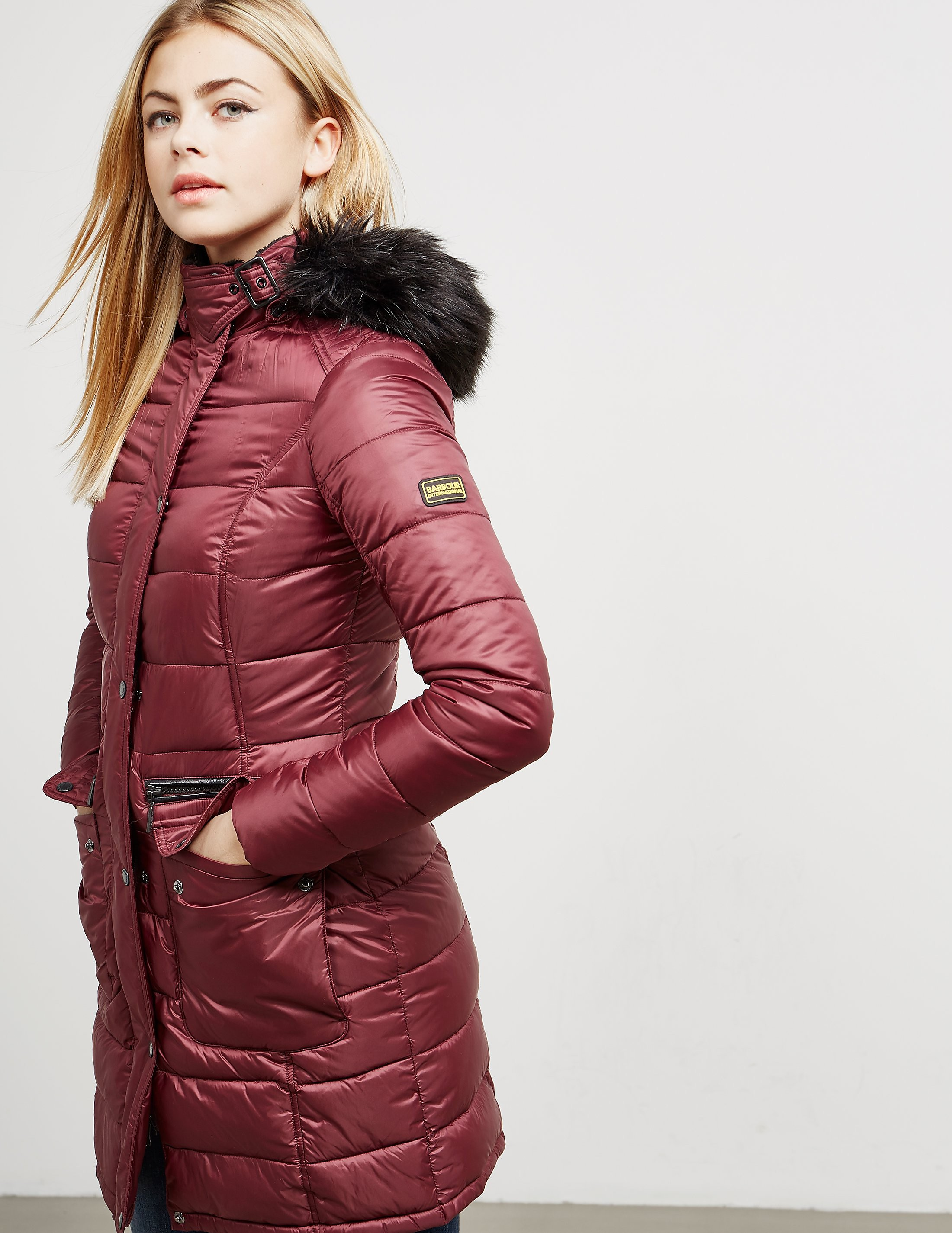 Barbour International Dunnet Quilted Jacket