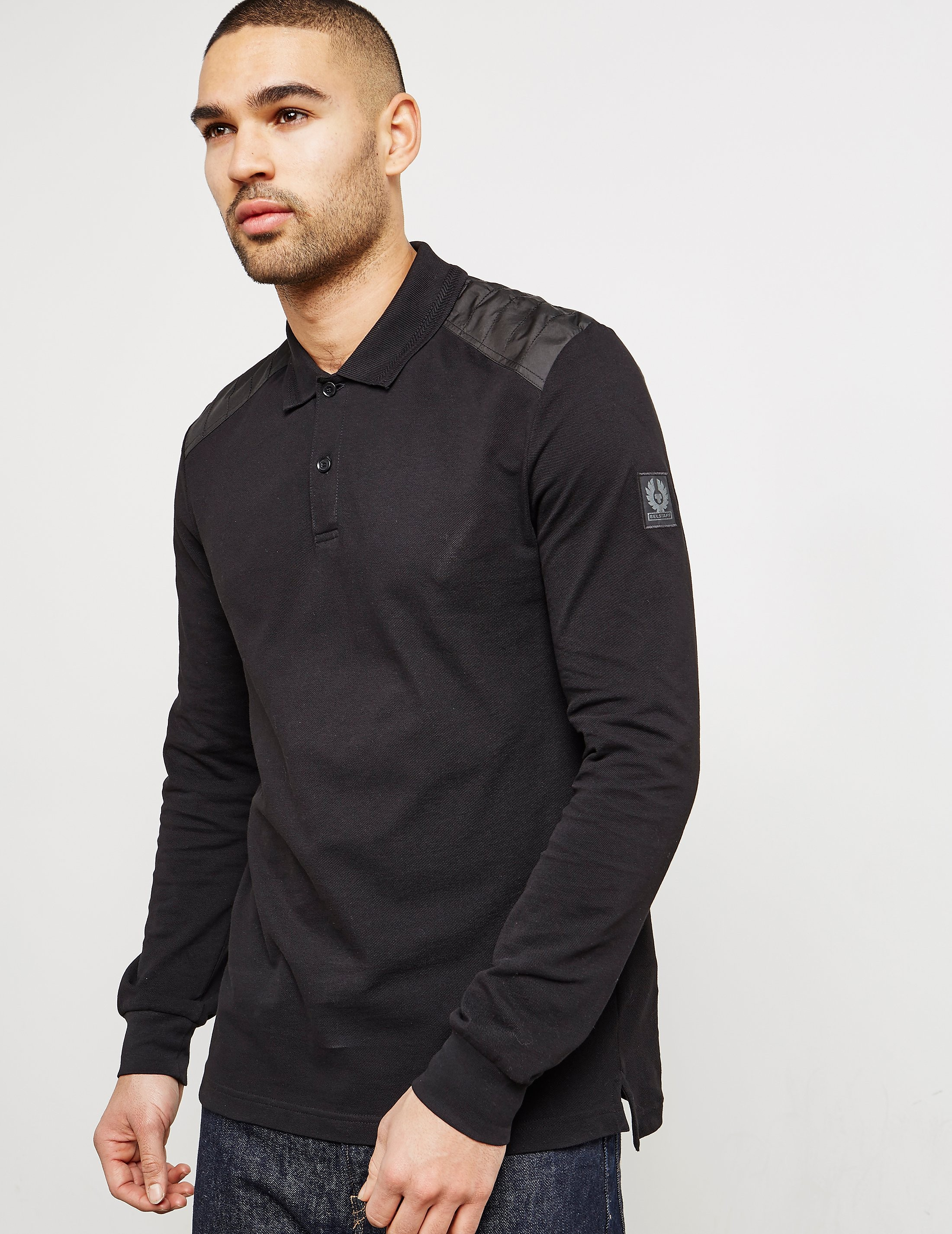 Belstaff Ashburton Long Sleeve Polo Shirt
