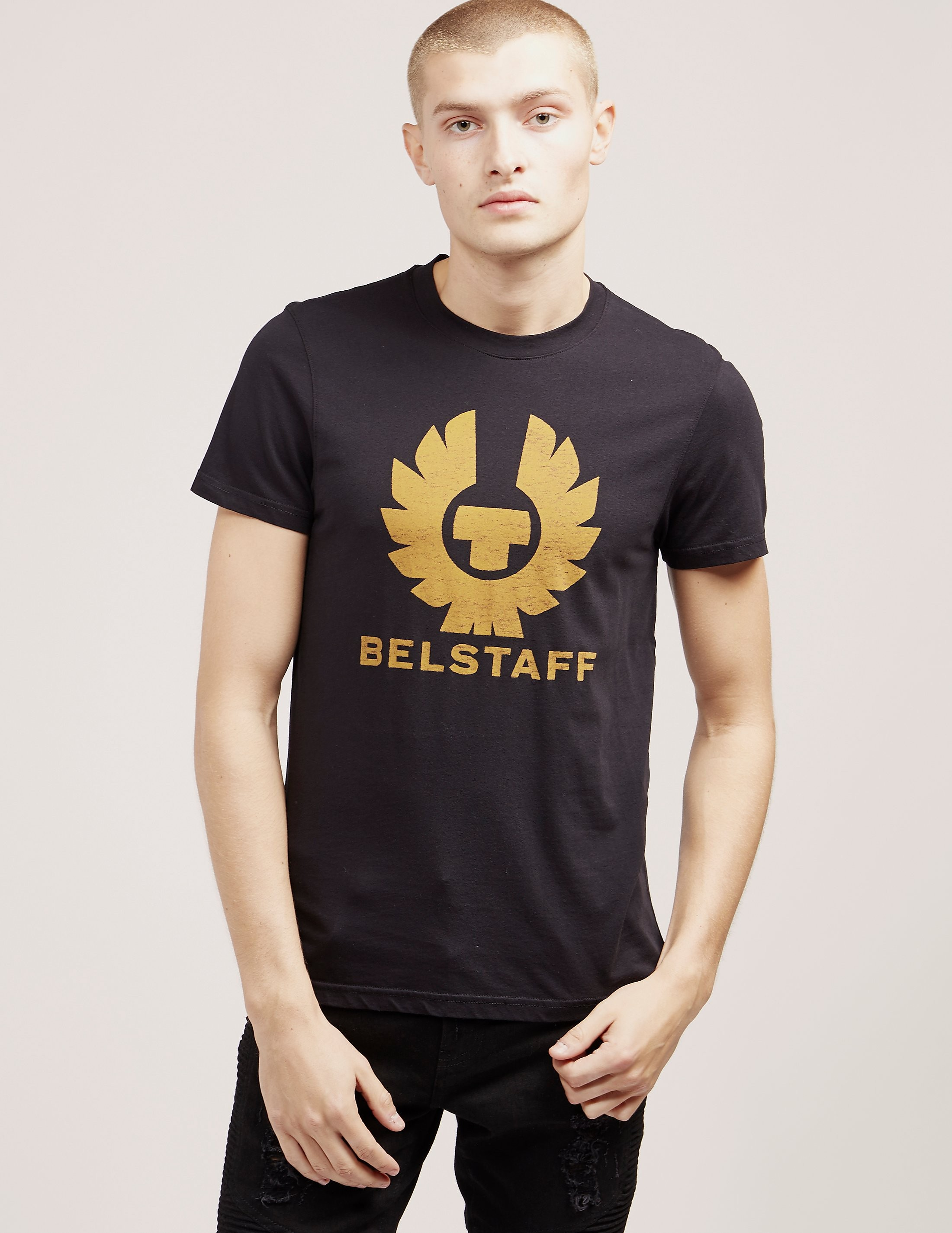 Belstaff Brand Short Sleeve T-Shirt