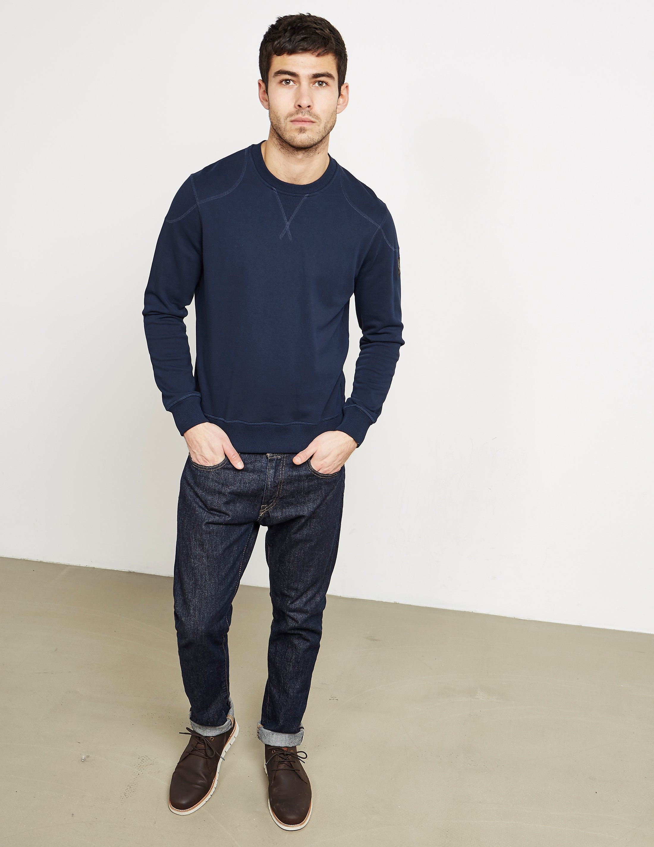 Belstaff Jeff Crew Neck Sweatshirt