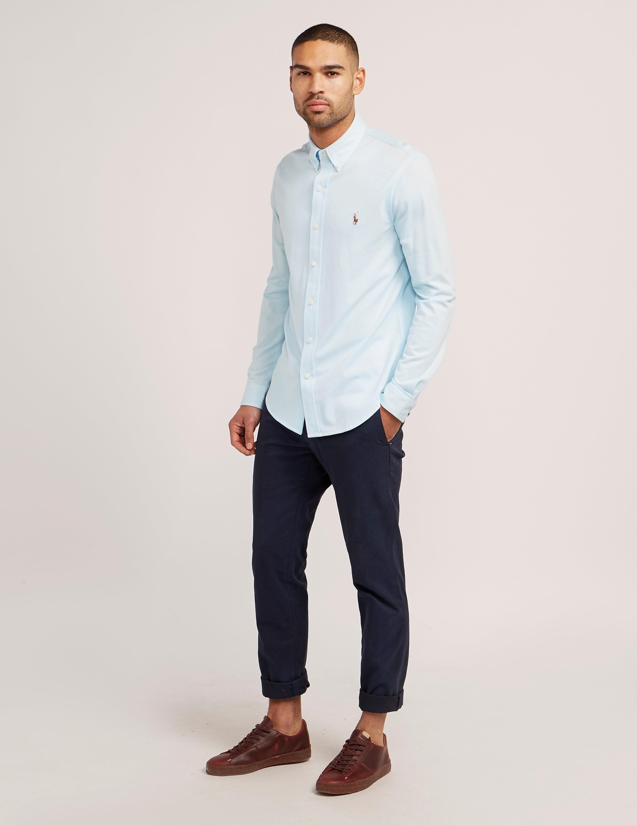 Polo Ralph Lauren Plain Knit Oxford Shirt