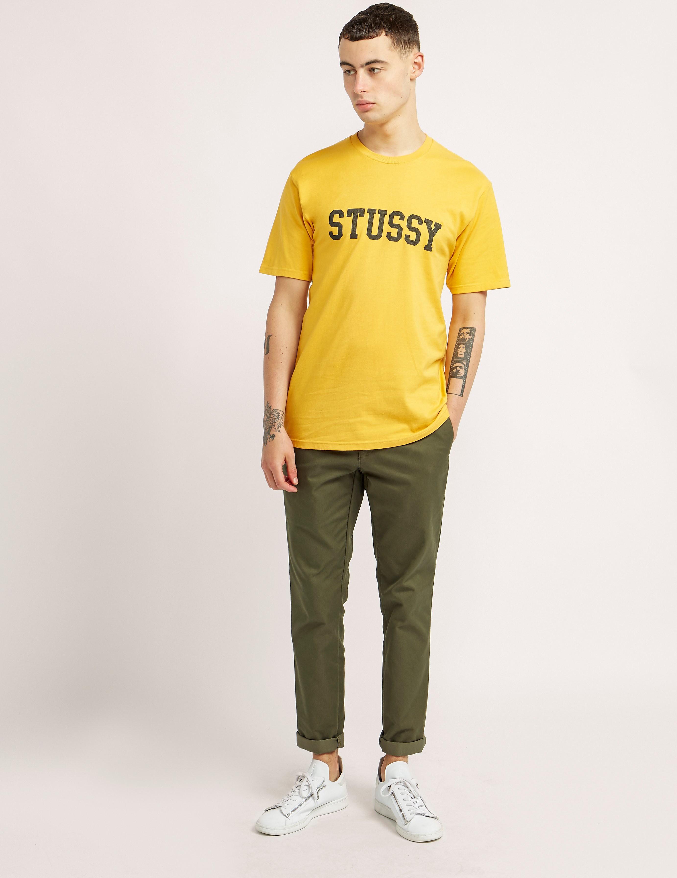 Stussy Cracked Short Sleeve T-Shirt