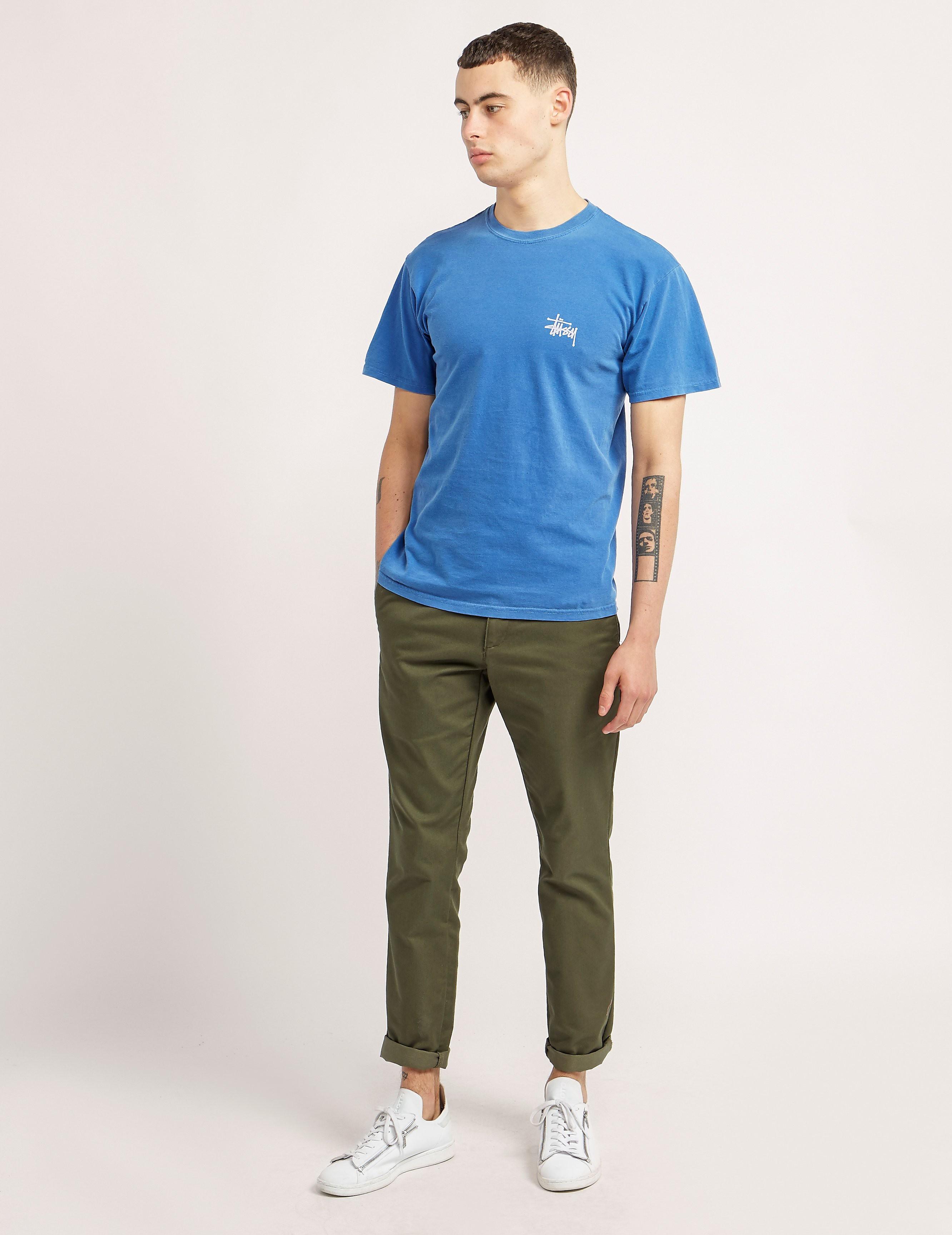 Stussy Basic Pigment Dyed T-Shirt