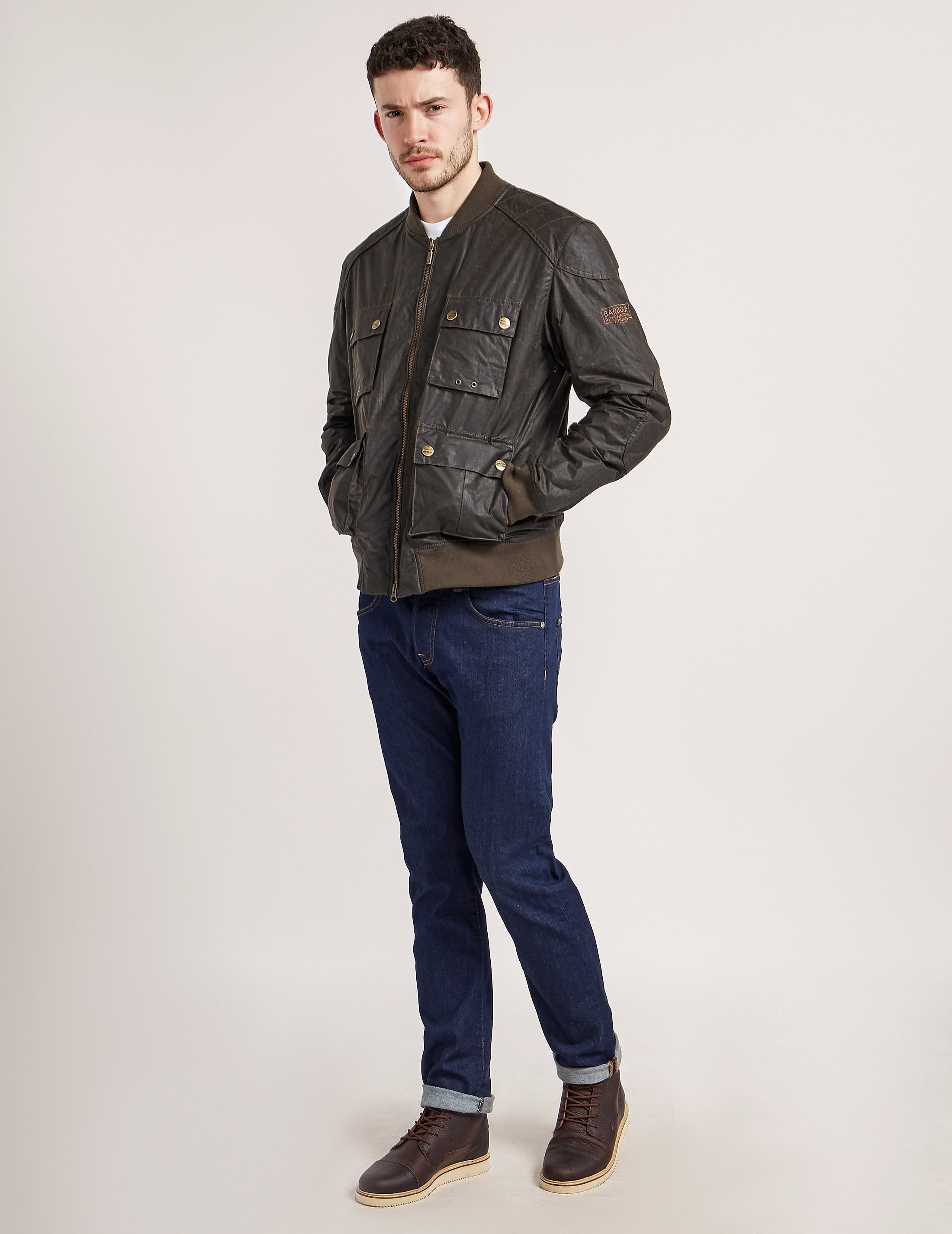 Barbour International Rocket Wax Jacket