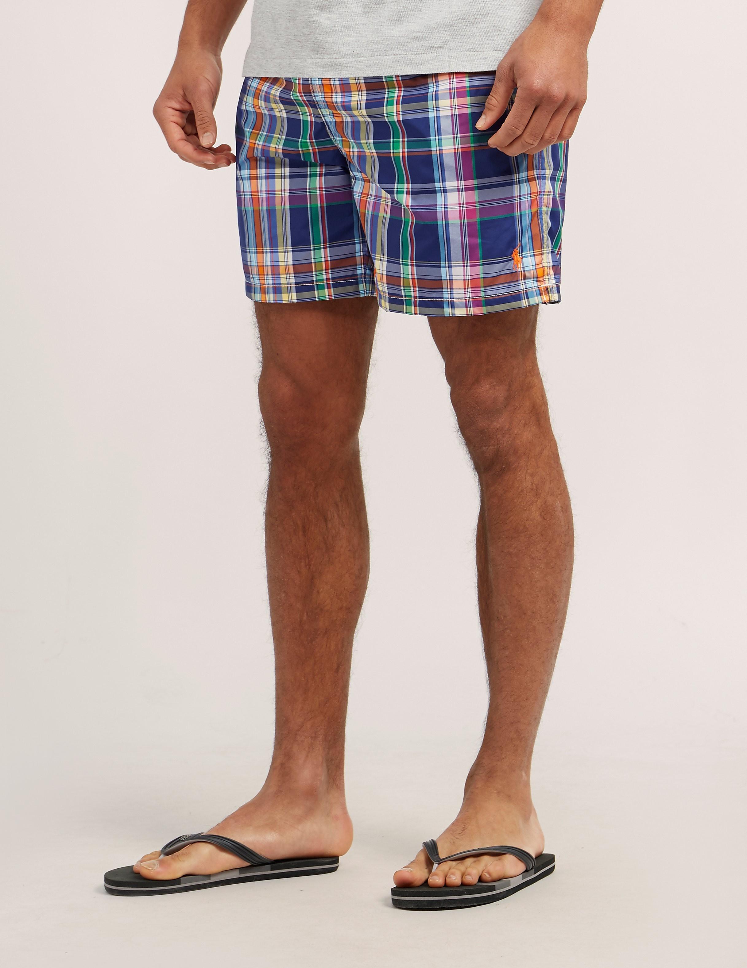 Polo Ralph Lauren Plaid Swim Shorts