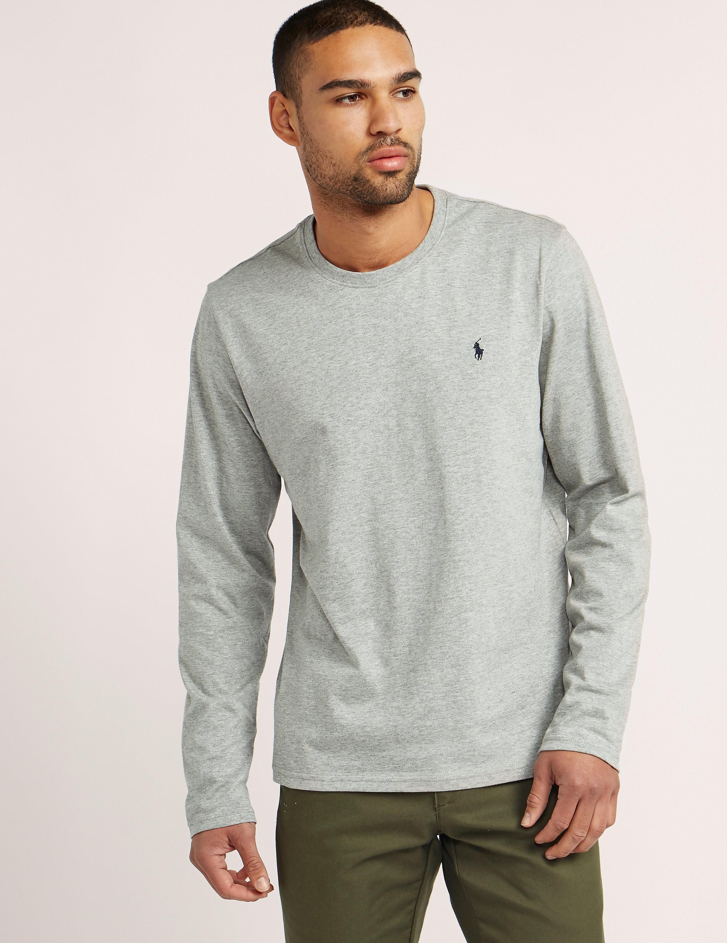 Polo Ralph Lauren Long Sleeve Crew Neck T-Shirt