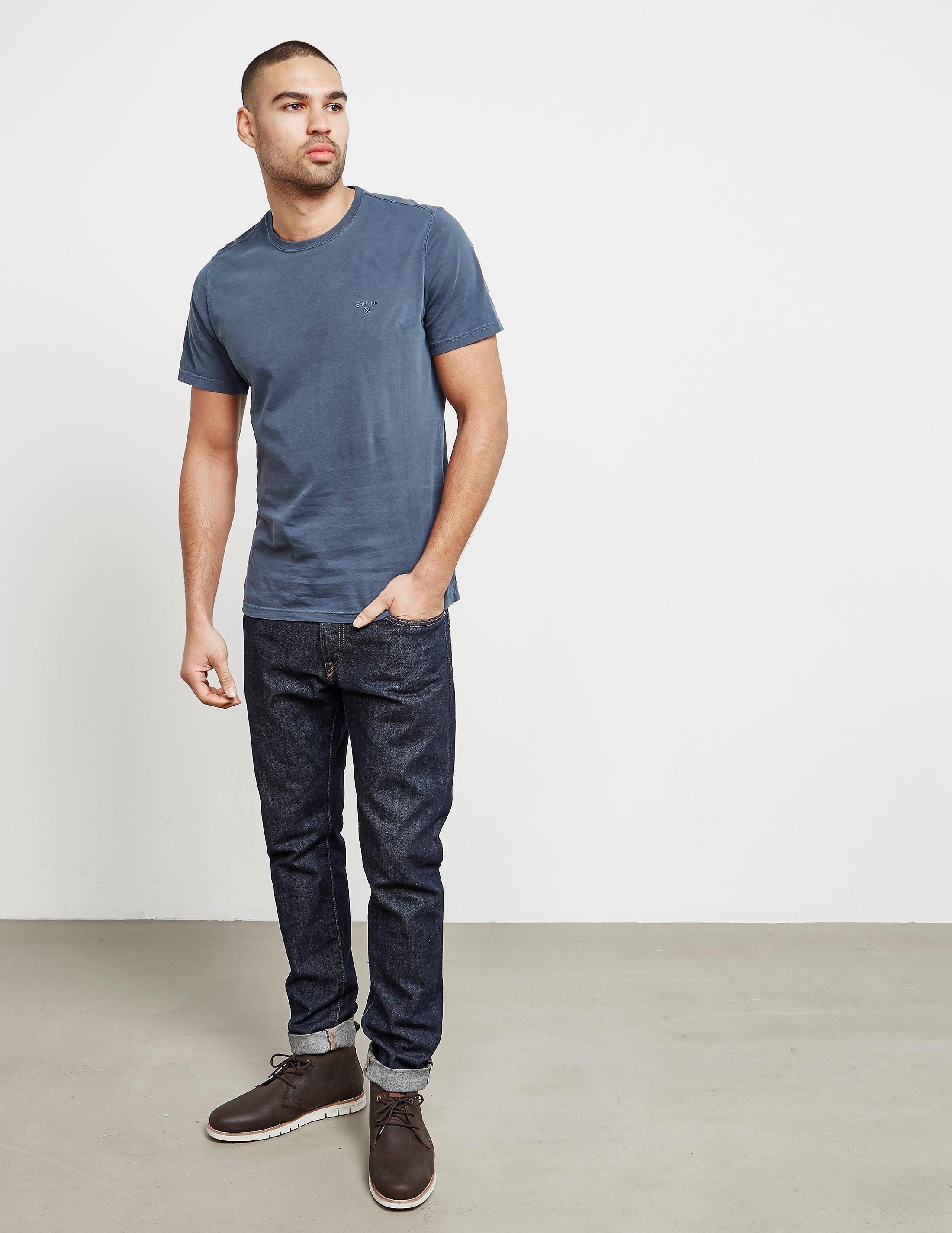 Barbour Garment Dyed Short Sleeve T-Shirt