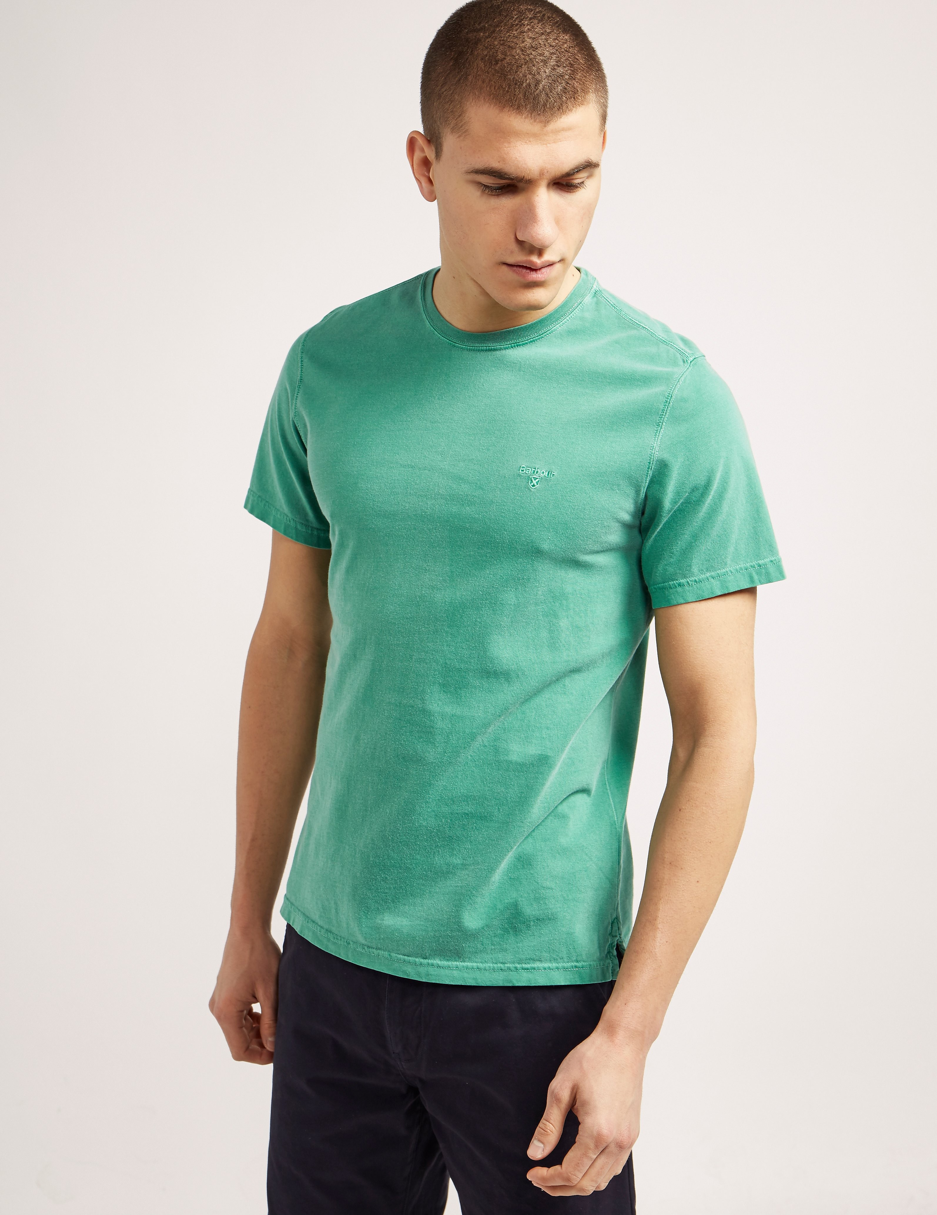 Barbour Garment Dyed Short Sleeve T-Shirt